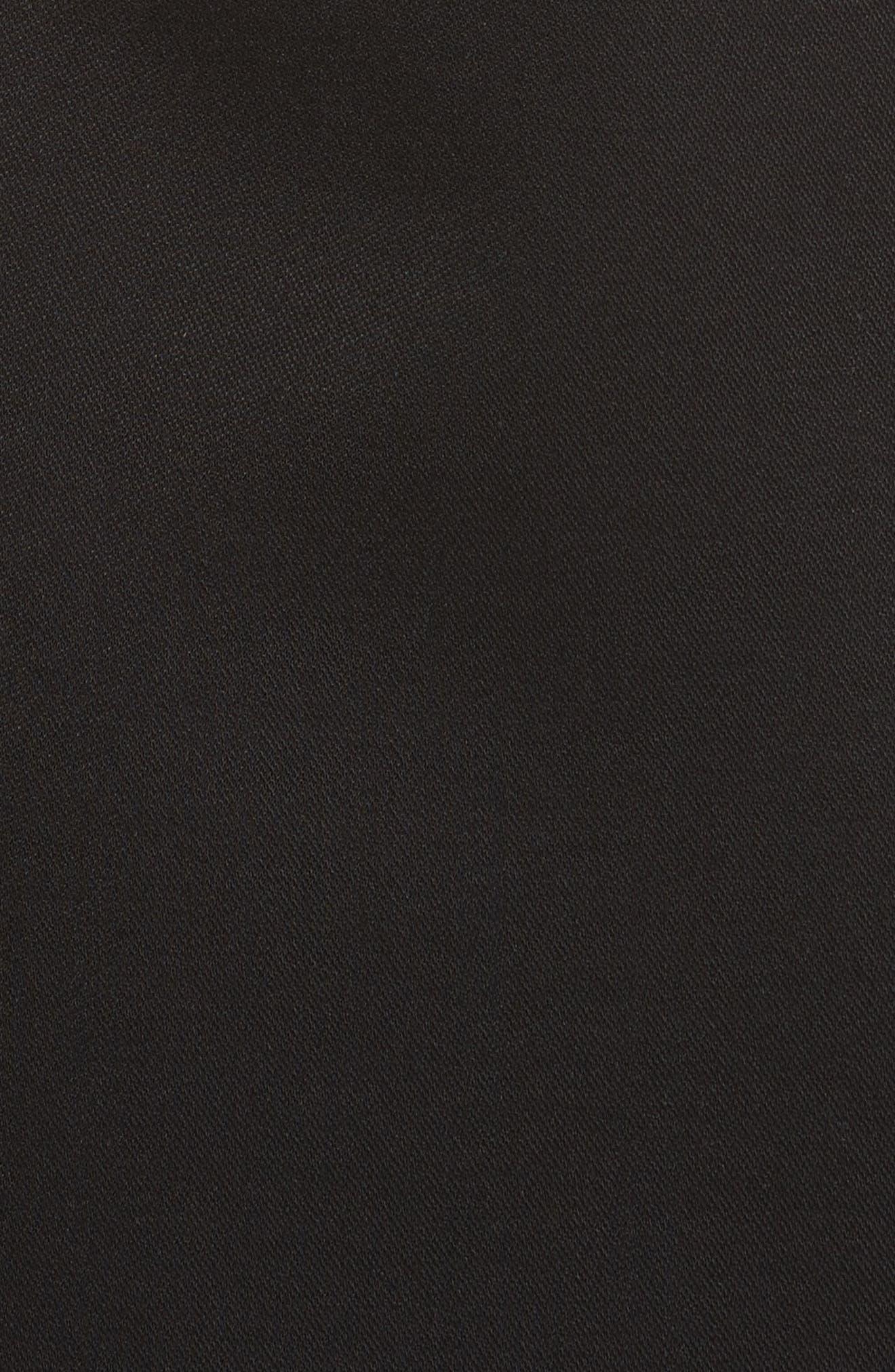 Alternate Image 5  - Helmut Lang Asymmetrical Off the Shoulder Scuba Dress