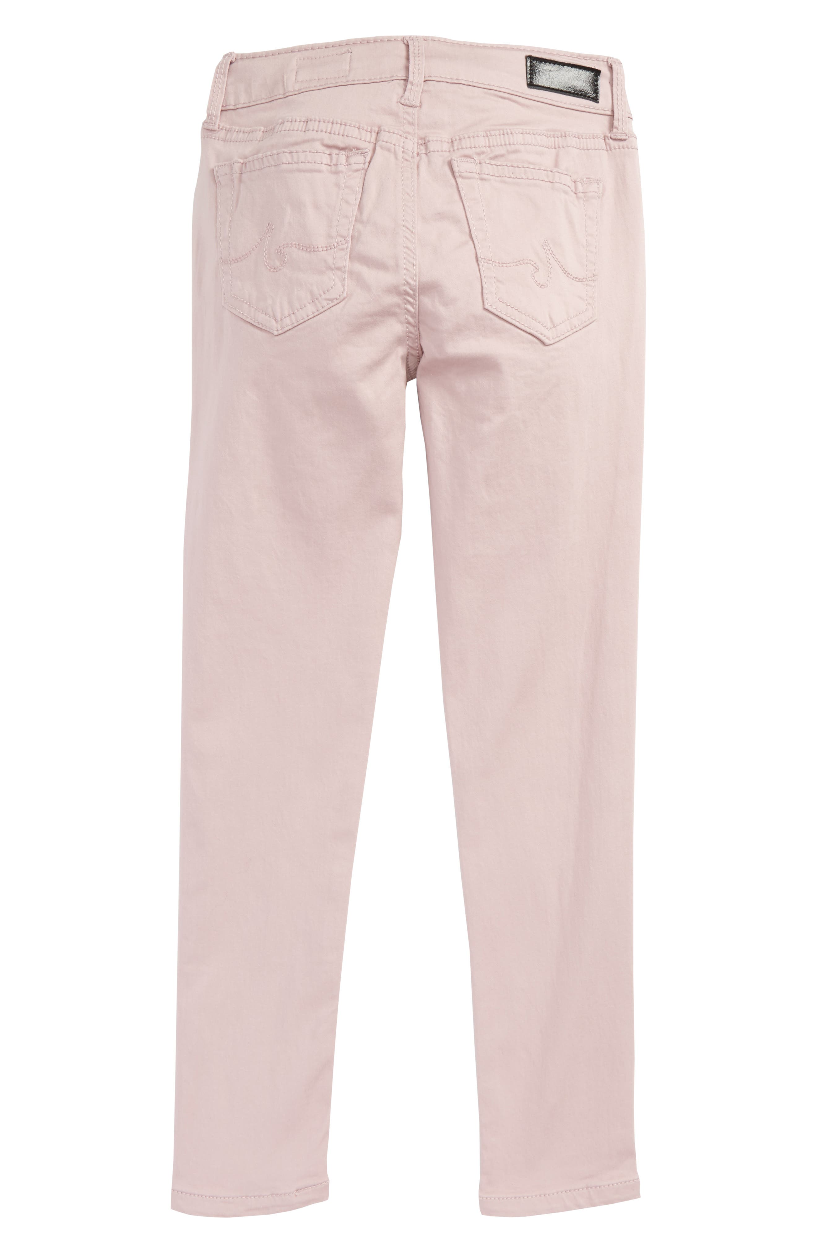 Alternate Image 2  - ag adriano goldschmied kids Twiggy Luxe Ankle Skinny Jeans (Toddler Girls & Little Girls)