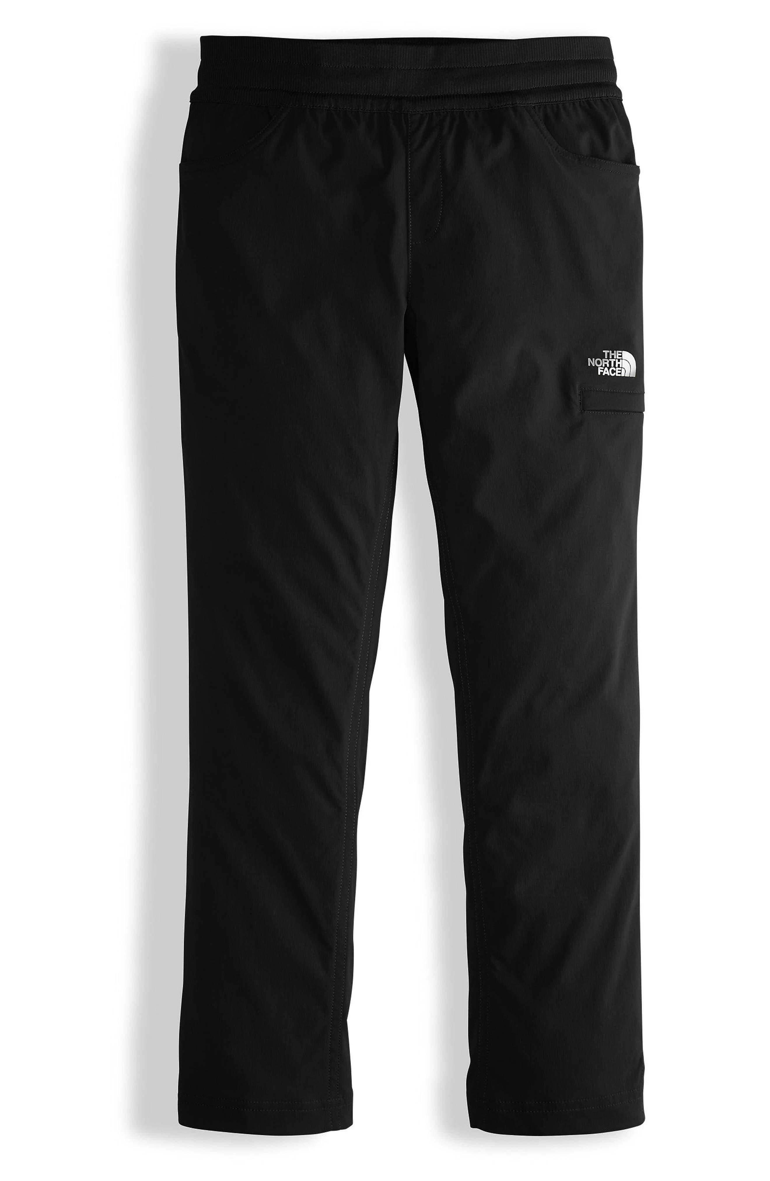 Aphrodite HD Luxe Pants,                             Main thumbnail 1, color,                             Tnf Black