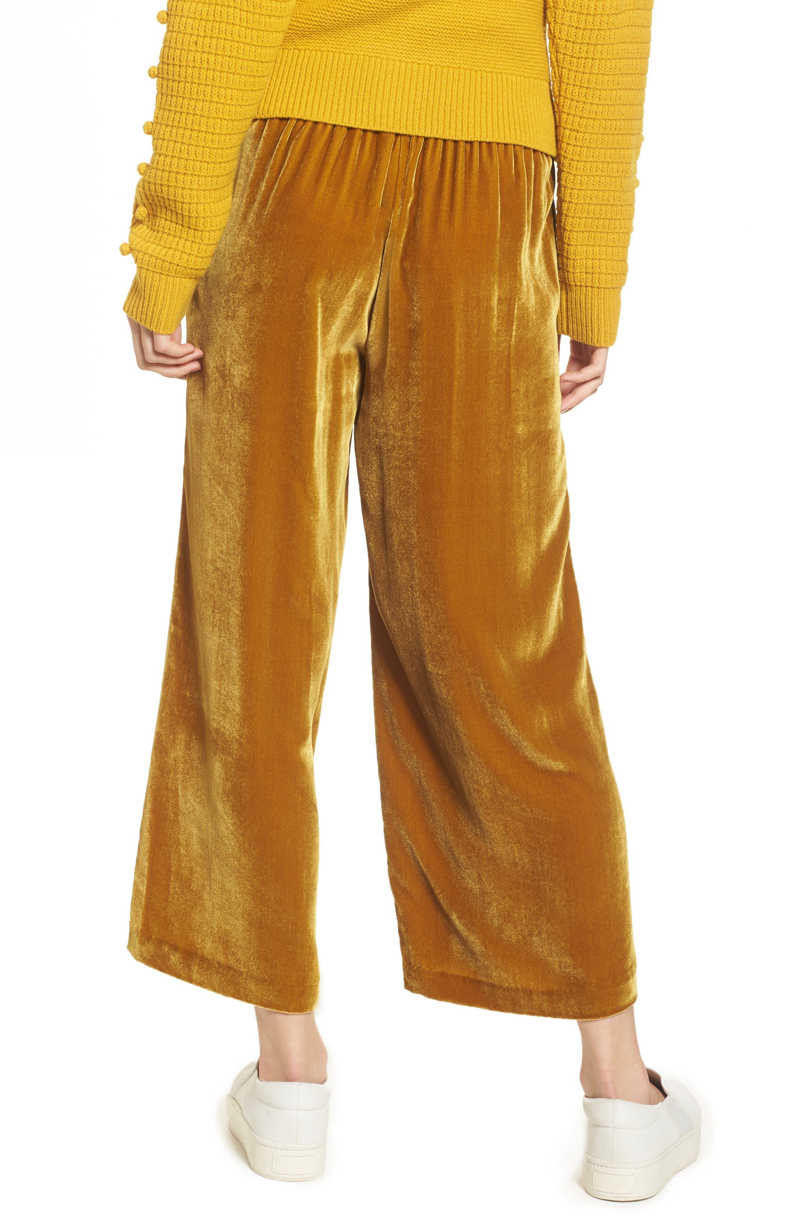 Alternate Image 2  - Madewell Velvet Pants