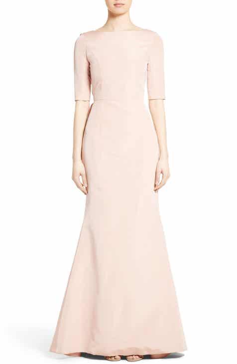Carolina Herrera D V Back Gown