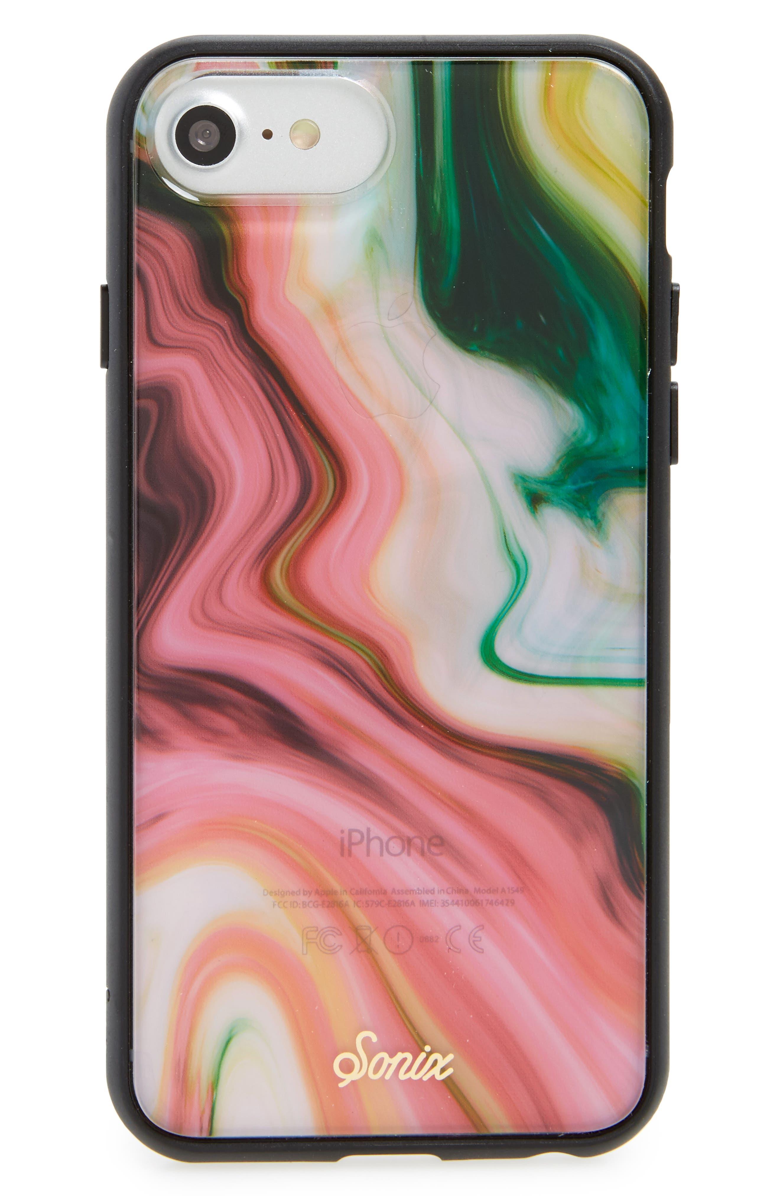Agate iPhone 6/6s/7/8, 6/6s/7/8 Plus & X Case,                             Main thumbnail 1, color,                             Multi