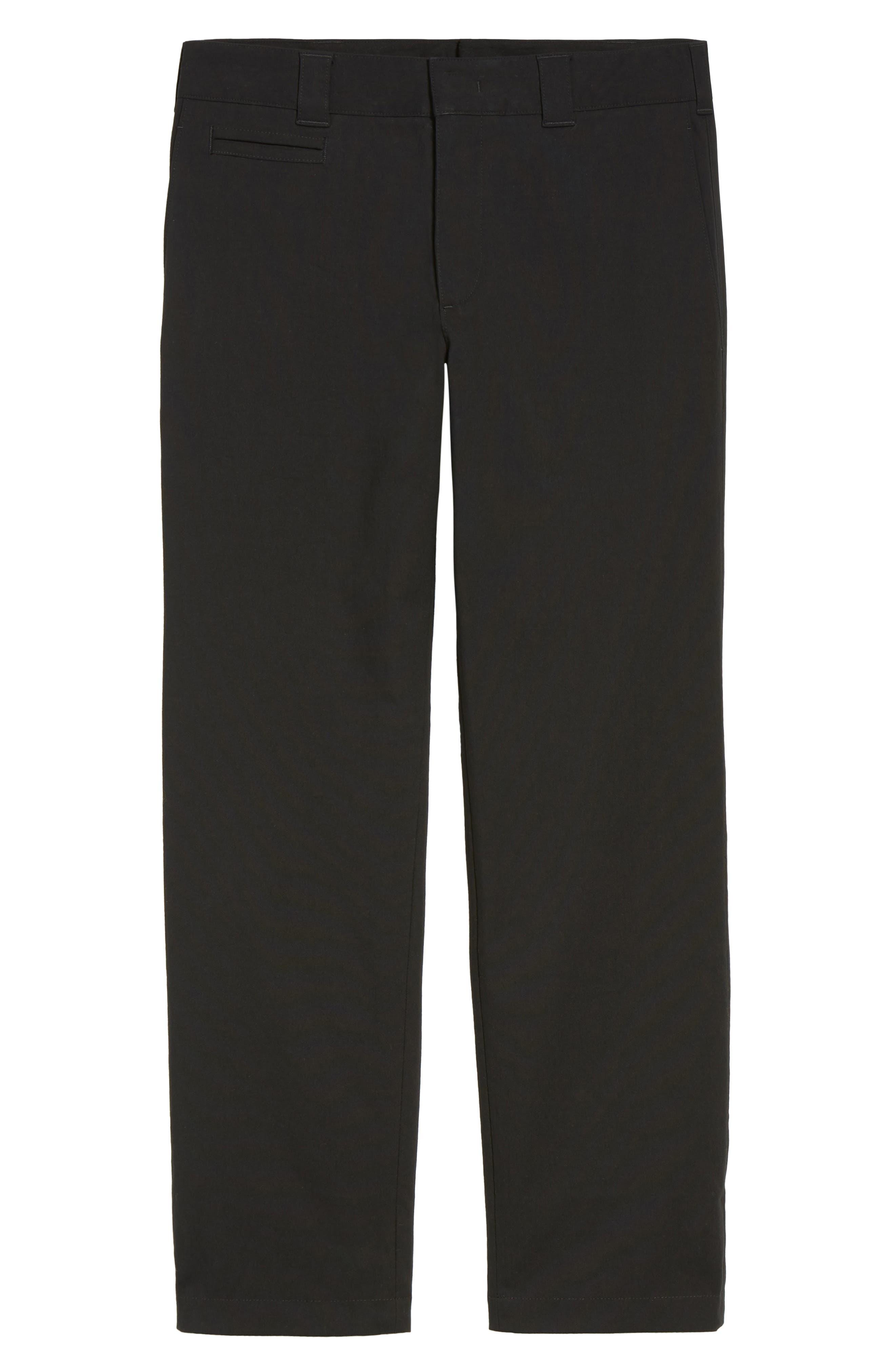 Utility Modern Straight Leg Pants,                             Alternate thumbnail 6, color,                             Black