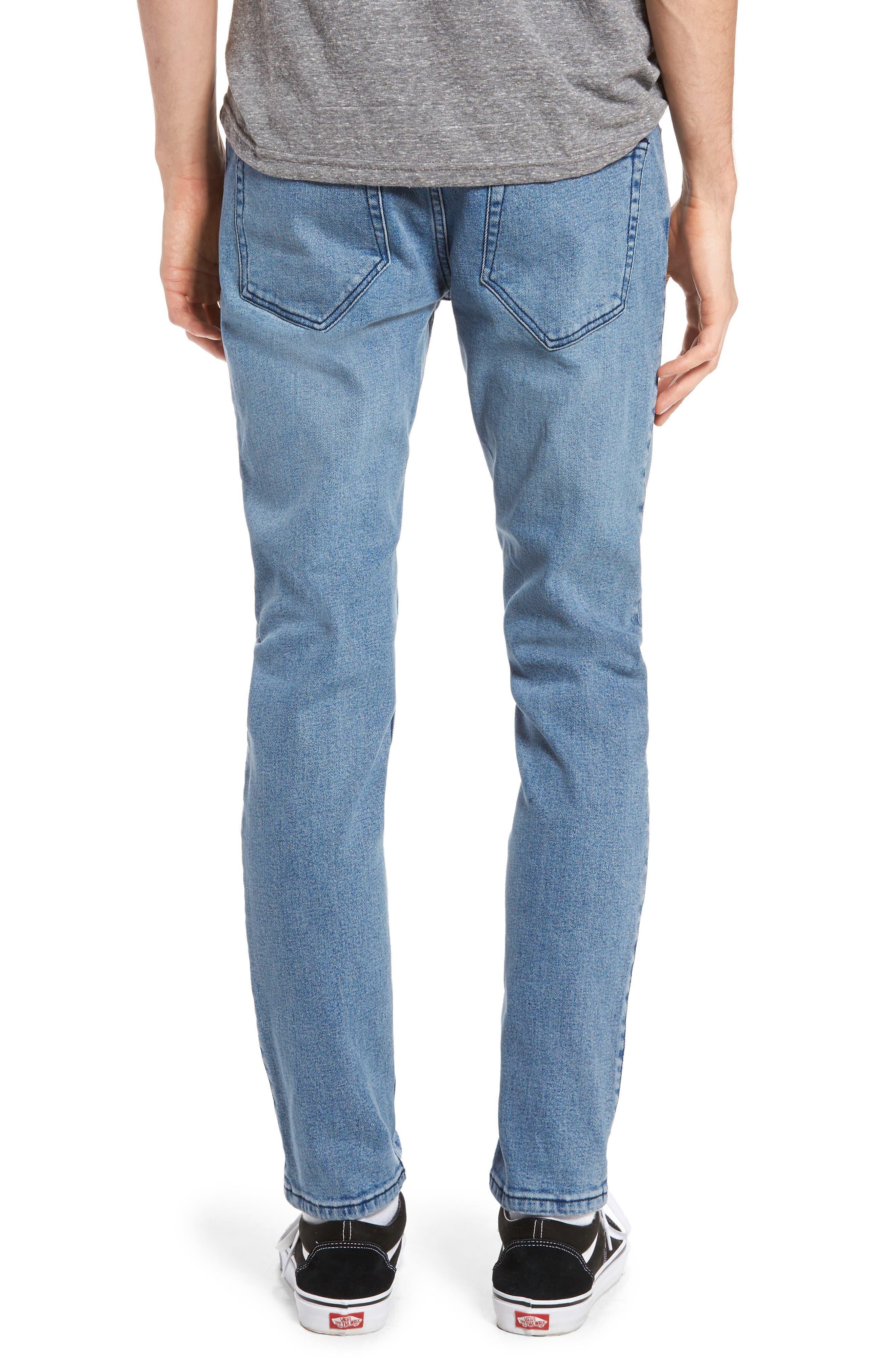 Alternate Image 2  - Dr. Denim Supply Co. Clark Slim Straight Leg Jeans (Worn Light Retro)
