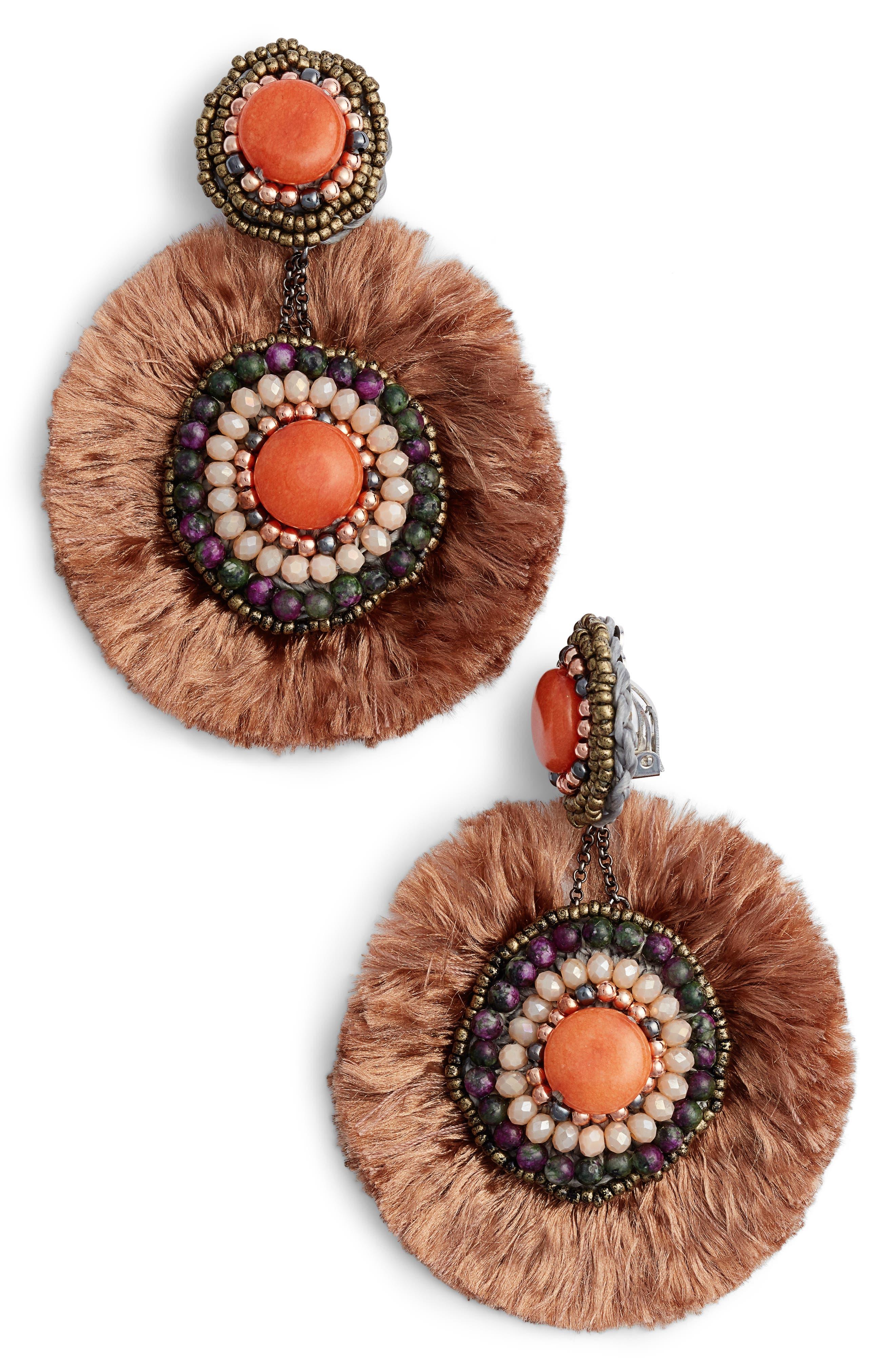 Alternate Image 1 Selected - Nakamol Design Fringe Earrings