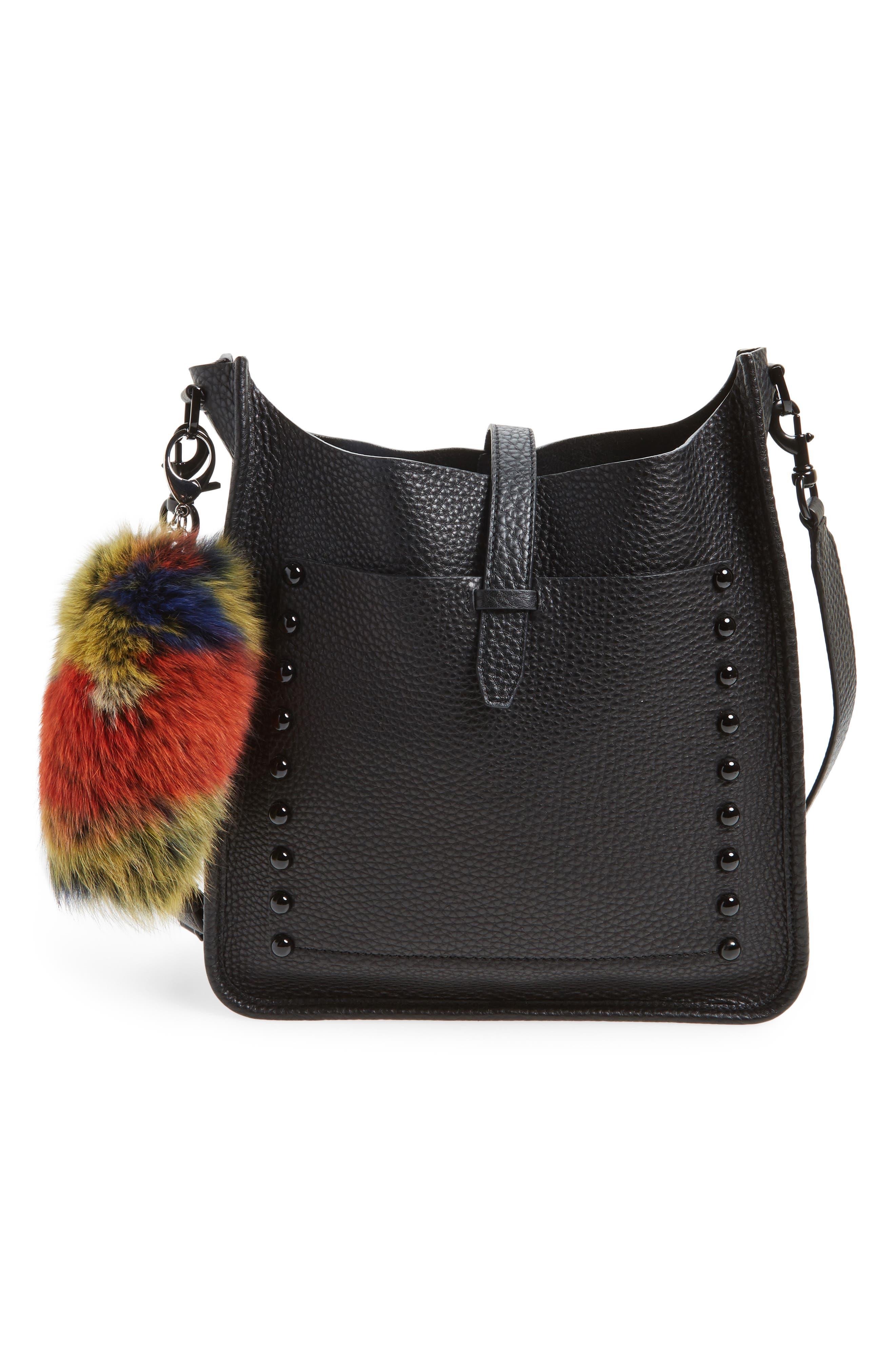 Alternate Image 2  - Rebecca Minkoff Genuine Fox Fur Bag Charm