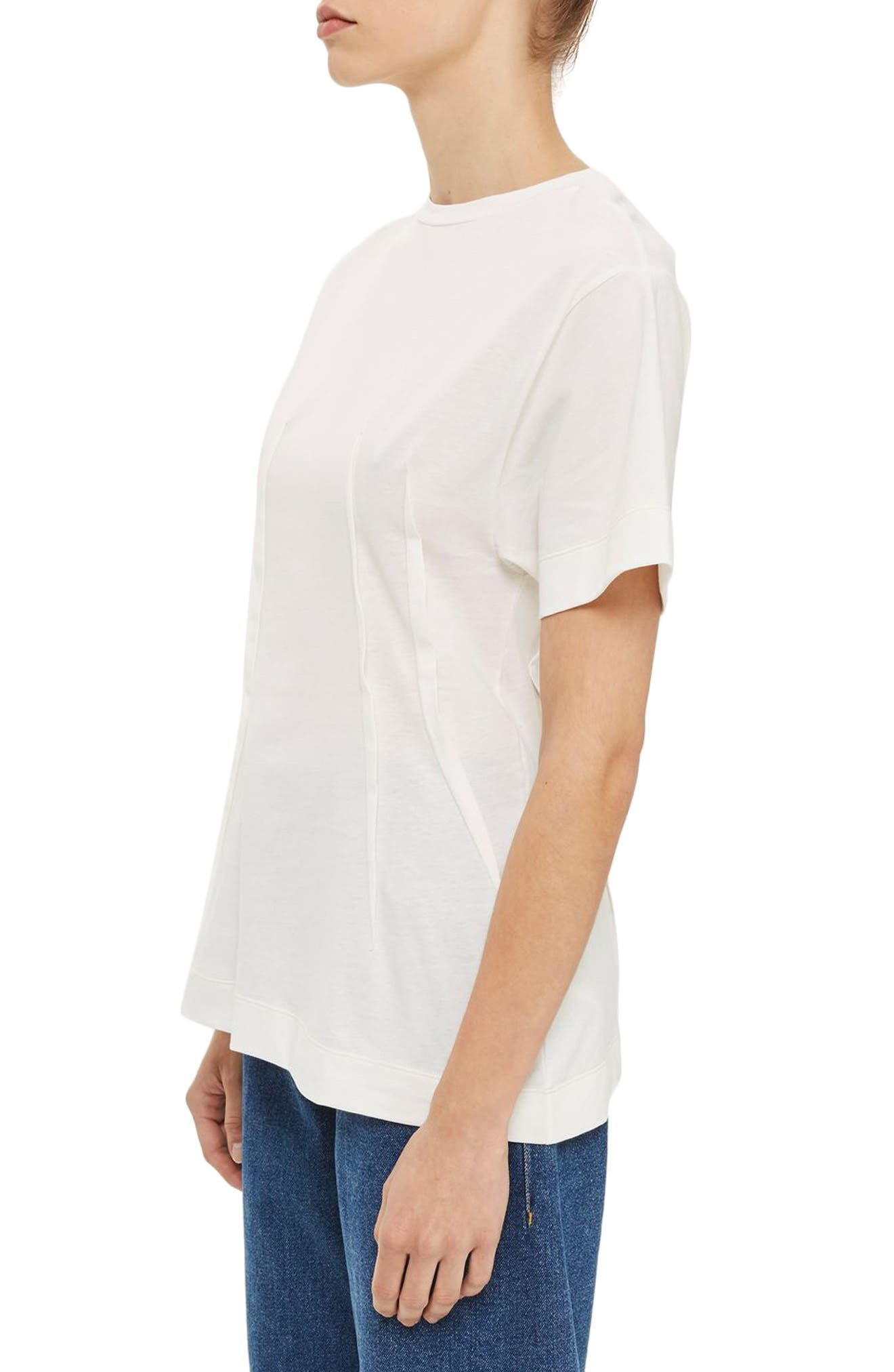 Alternate Image 3  - Topshop Boutique Pintuck Tee