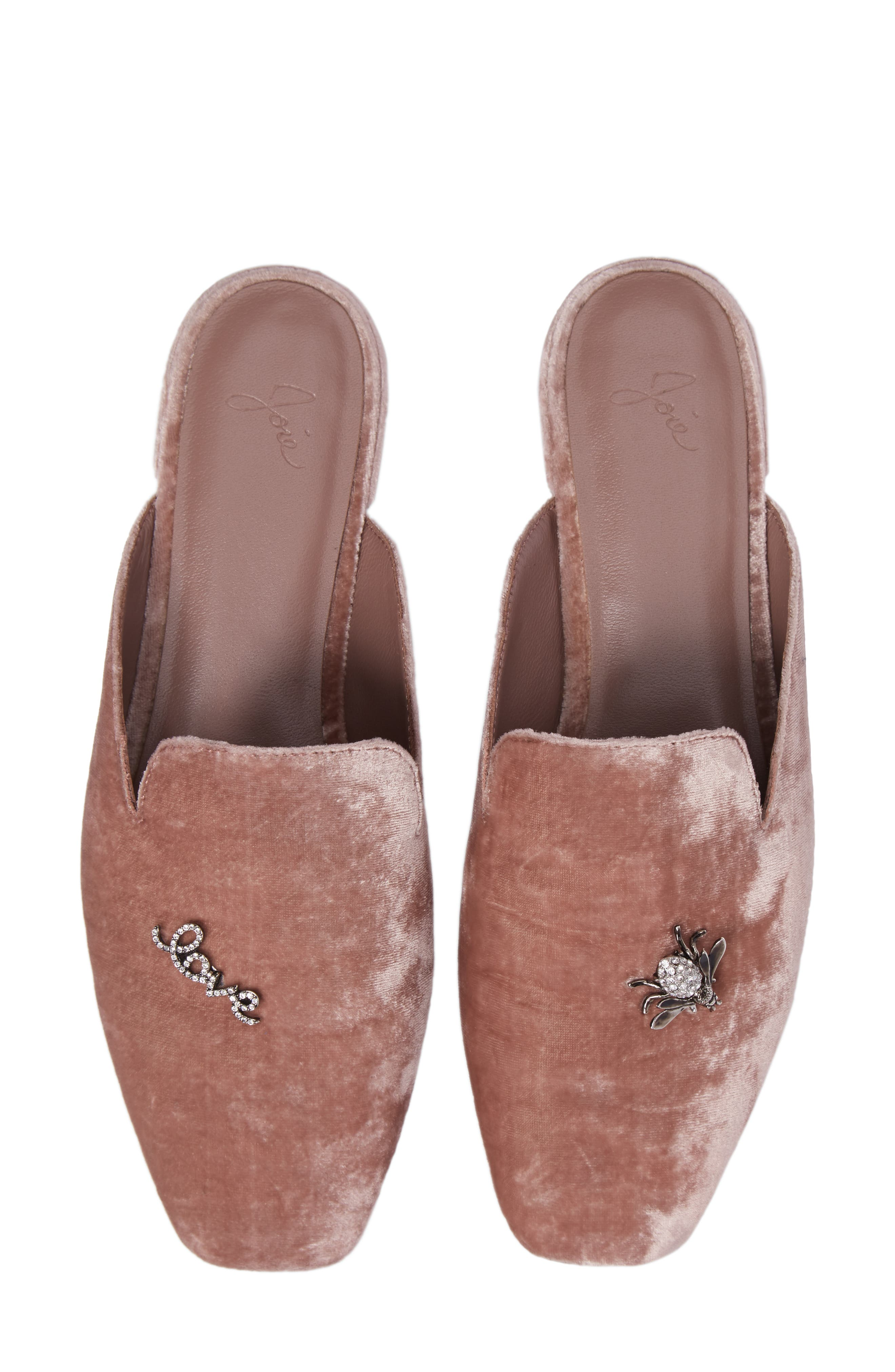 Jadine Embellished Mule,                         Main,                         color, Ballet