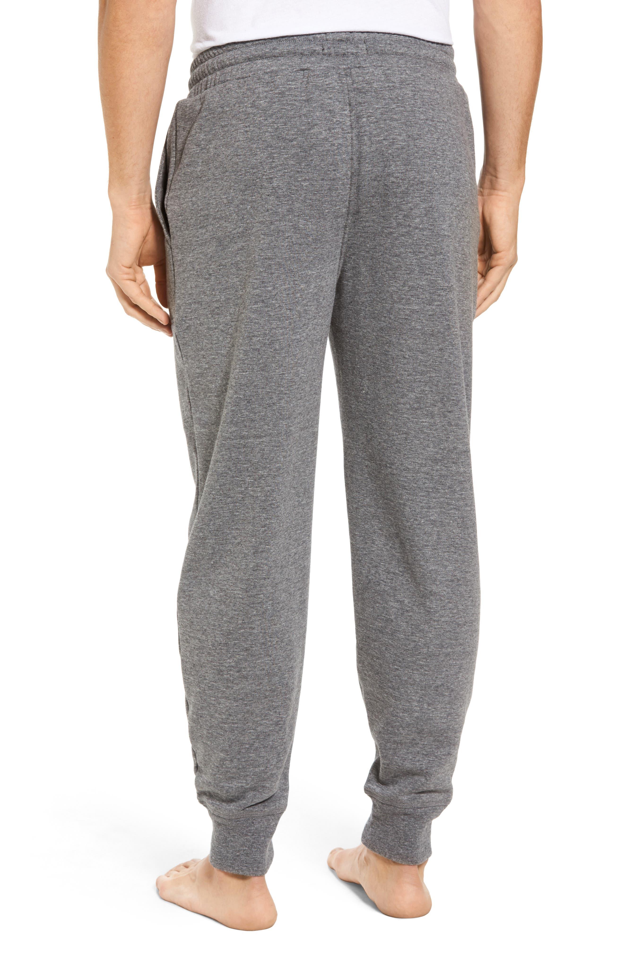 Alternate Image 2  - Nordstrom Men's Shop French Terry Pajama Pants