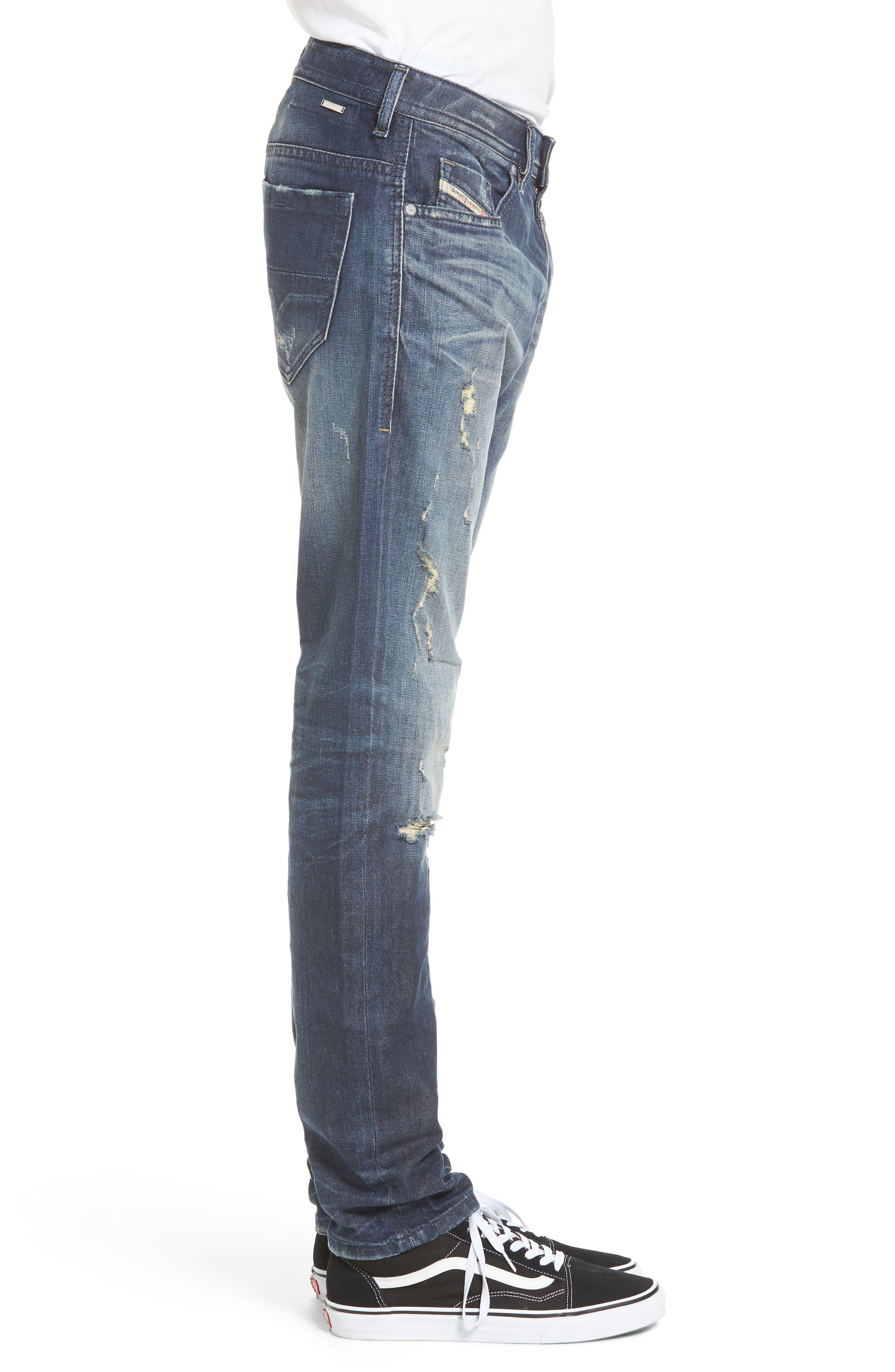 Thommer Slim Fit Jeans,                             Alternate thumbnail 3, color,                             Denim