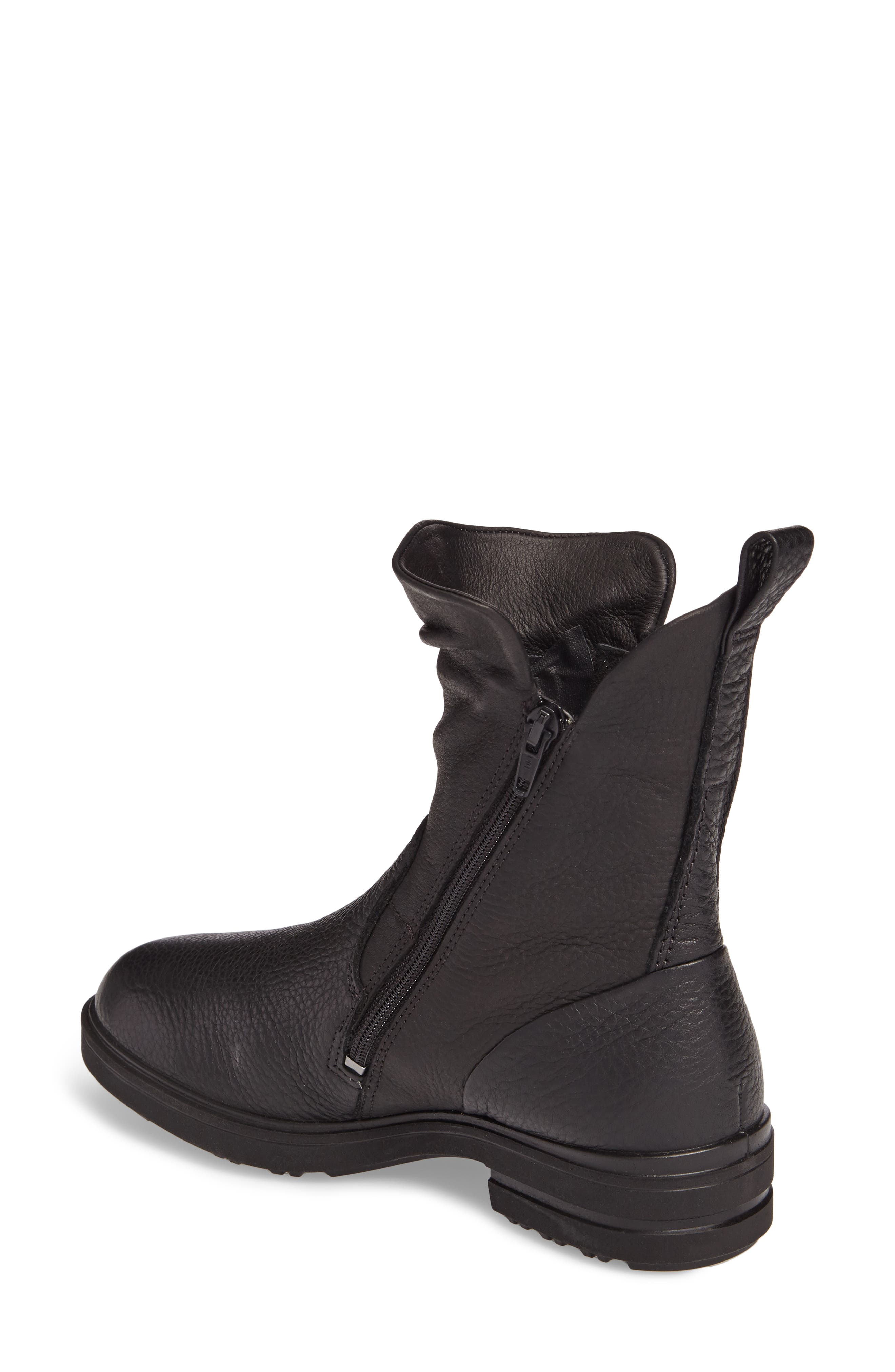 Zoe Mid Boot,                             Alternate thumbnail 2, color,                             Black Leather