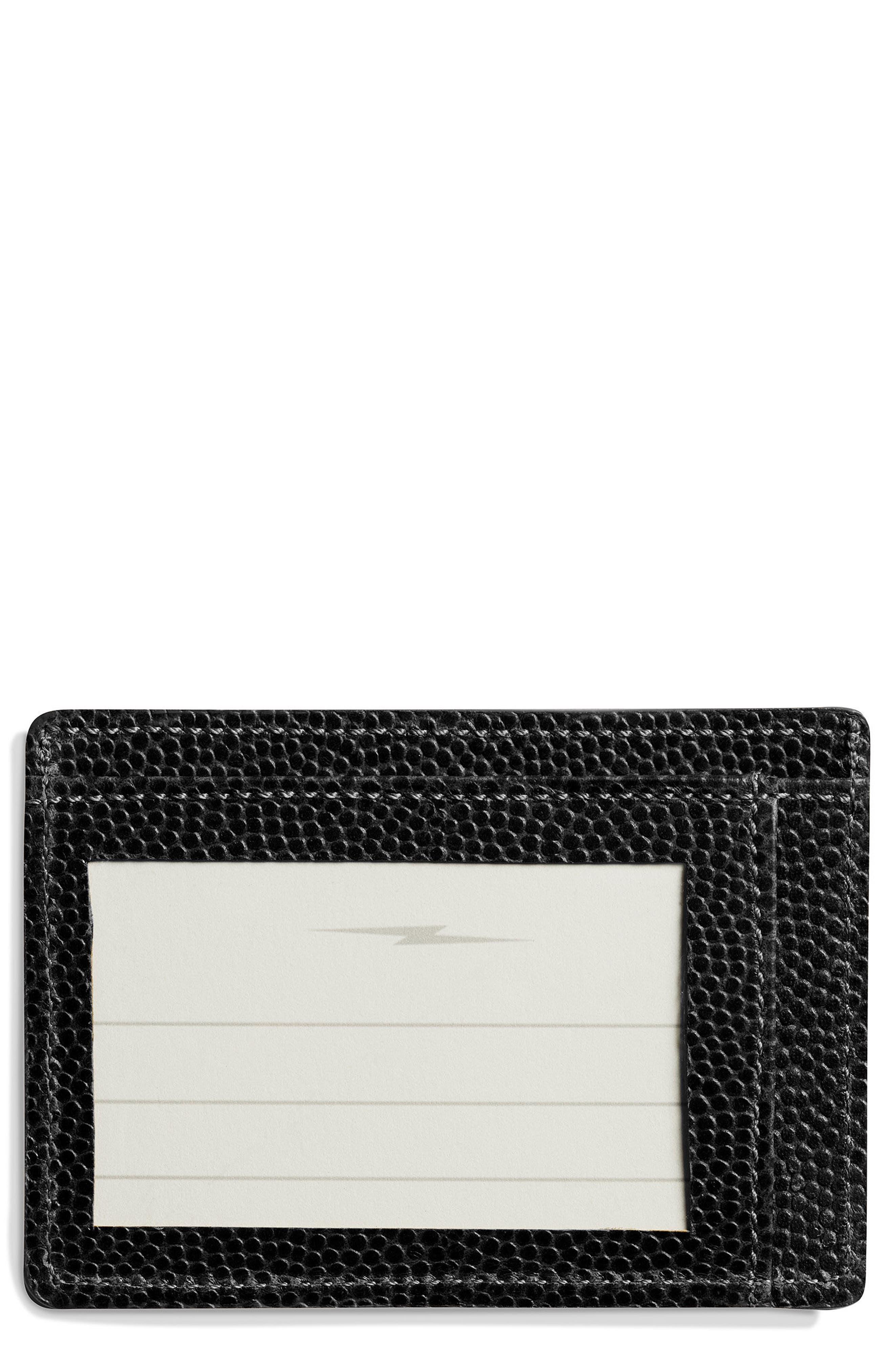 Alternate Image 1 Selected - Shinola Latigo Leather Card Case