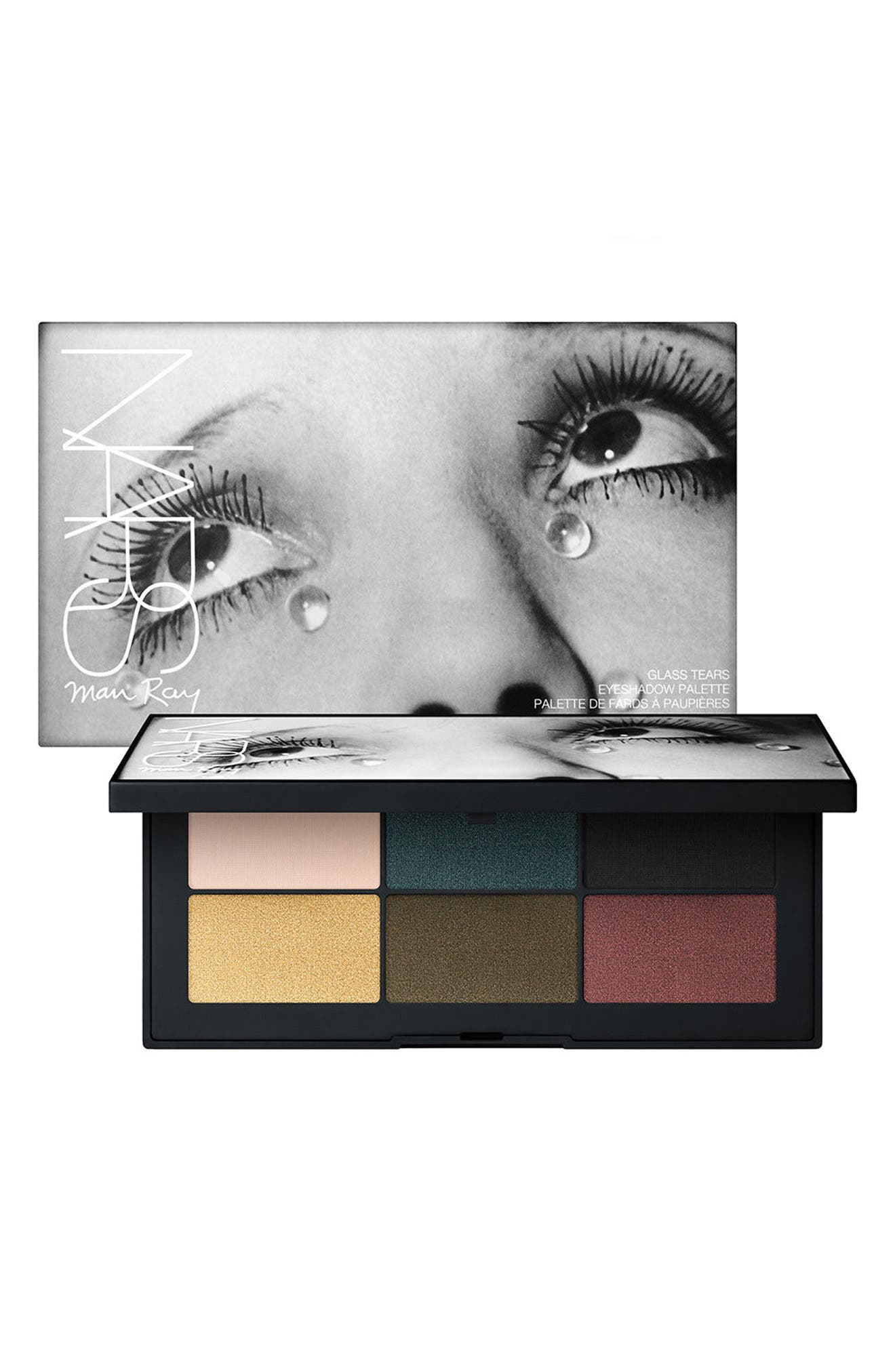 Man Ray Glass Tears Eyeshadow Palette,                             Main thumbnail 1, color,                             No Color