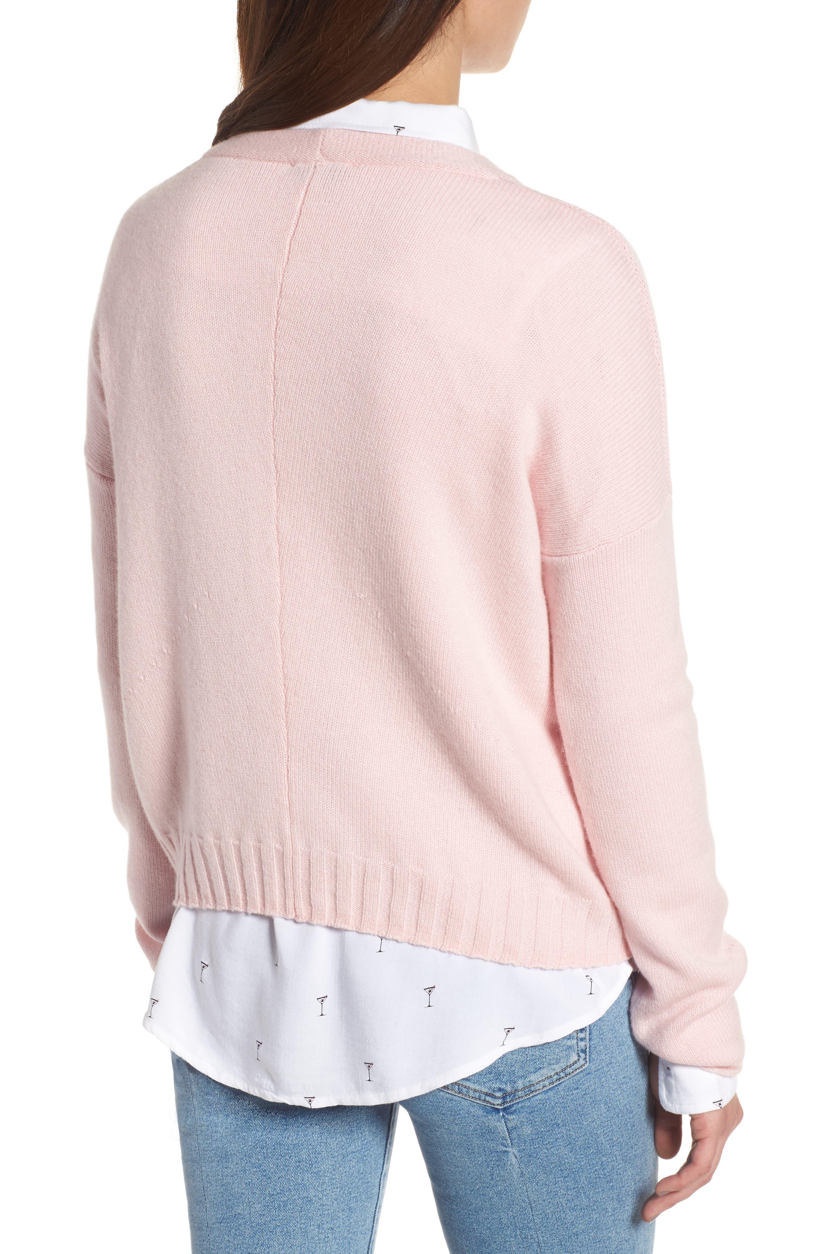 Alternate Image 2  - Rails Joanna Wool & Cashmere Sweater