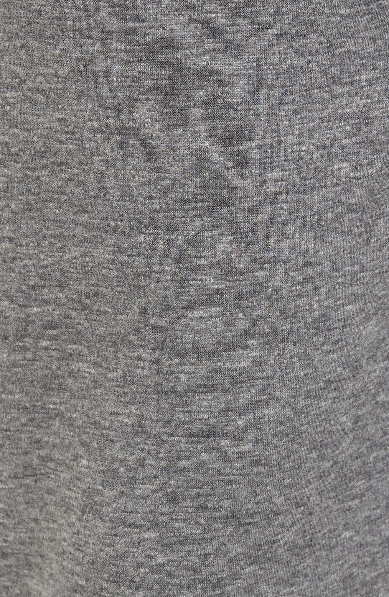 Alternate Image 5  - Nordstrom Men's Shop French Terry Pajama Pants