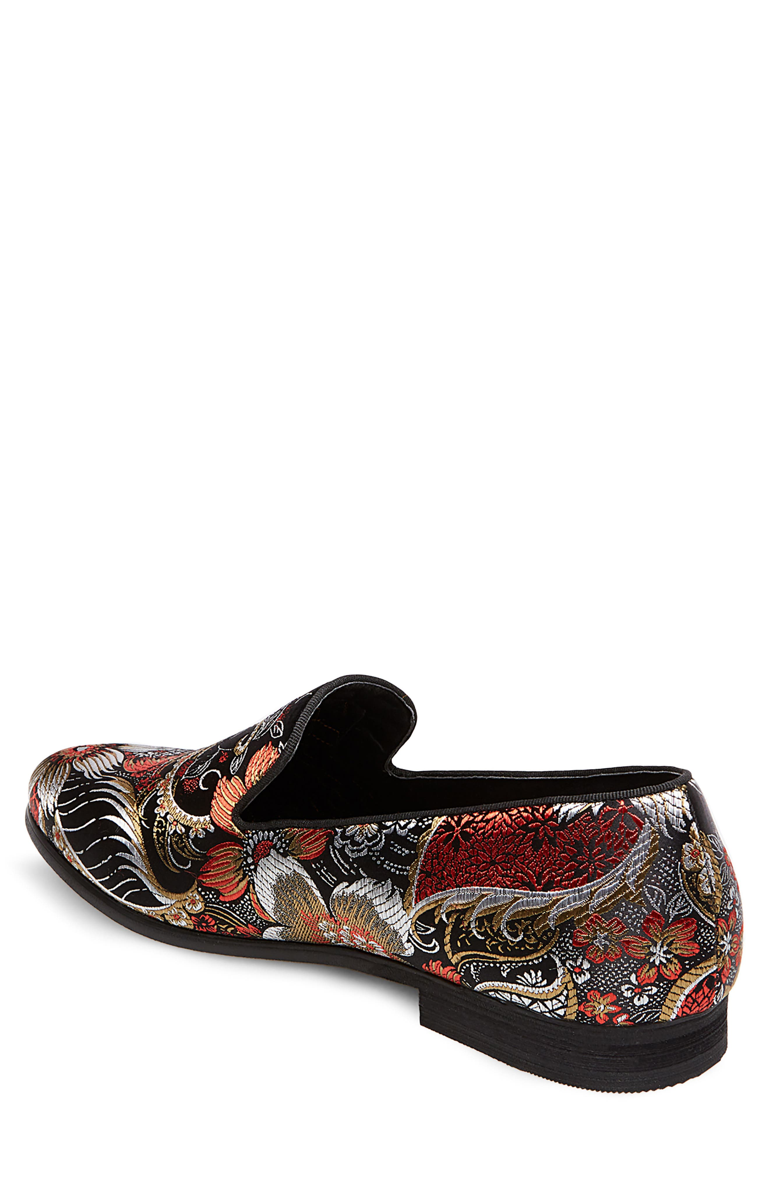 Cypress Venetian Loafer,                             Alternate thumbnail 2, color,                             Red Multi