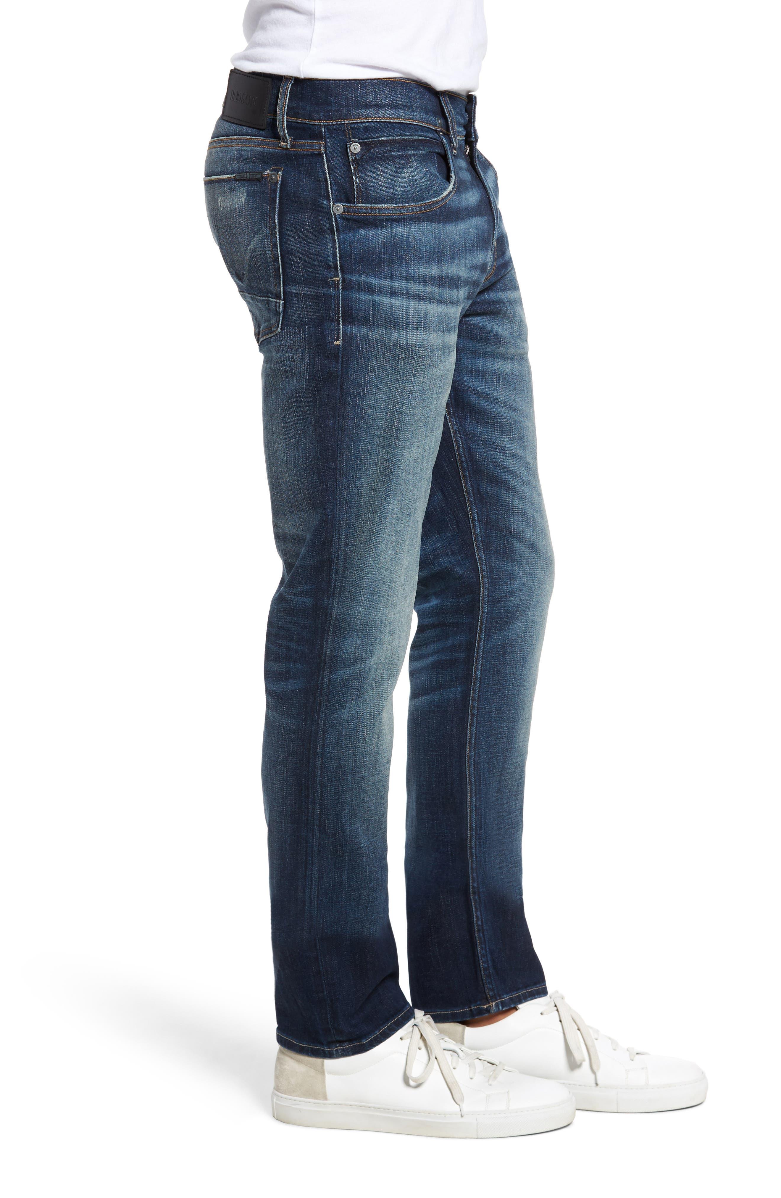 Hudson Blake Slim Fit Jeans,                             Alternate thumbnail 3, color,                             Ban This