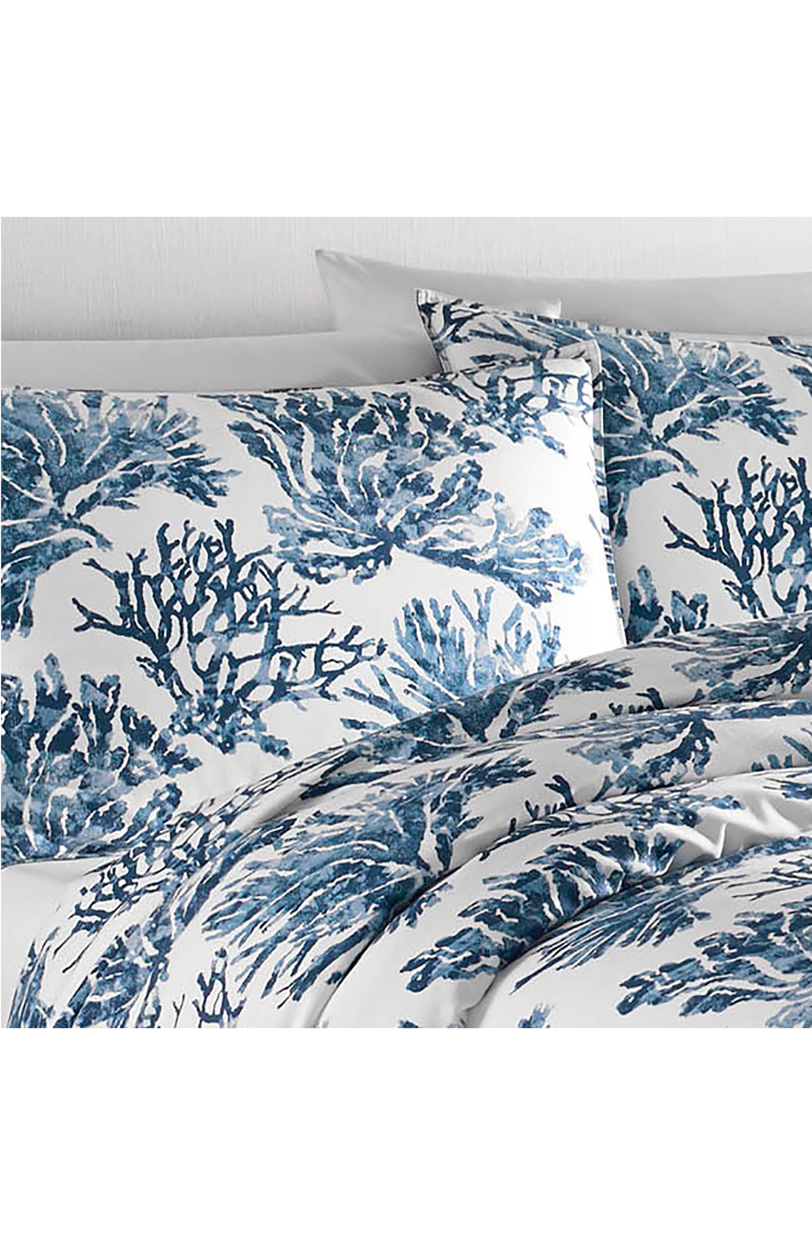 Cape Coral Comforter & Sham Set,                             Alternate thumbnail 2, color,                             Dark Blue