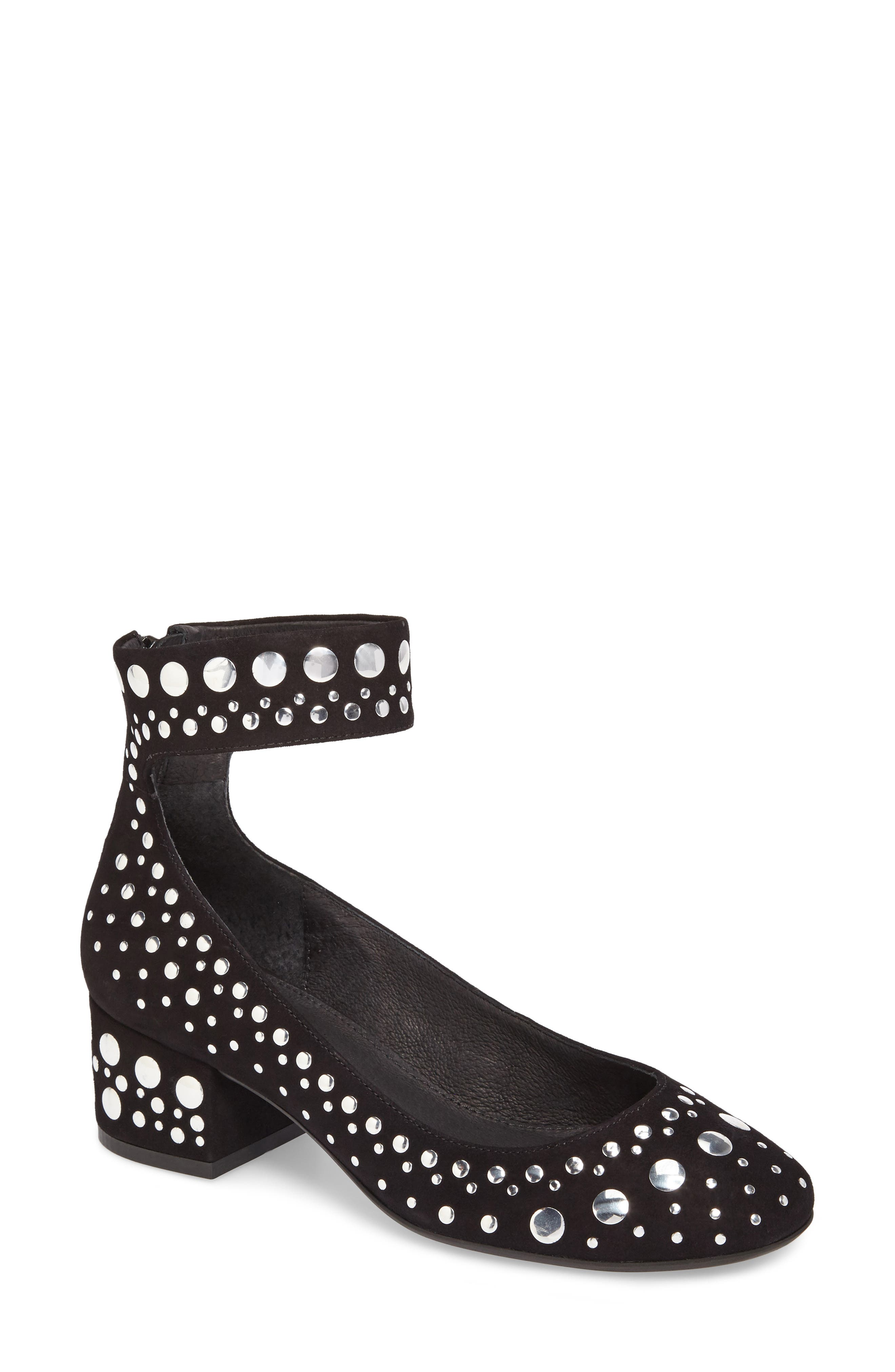Cecelia New York Lukas Ankle Strap Pump (Women)