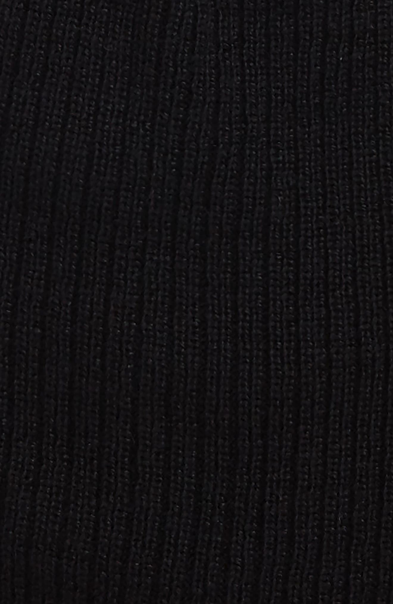 Reversible Tech Beanie,                             Alternate thumbnail 2, color,                             Black/ Iron Grey