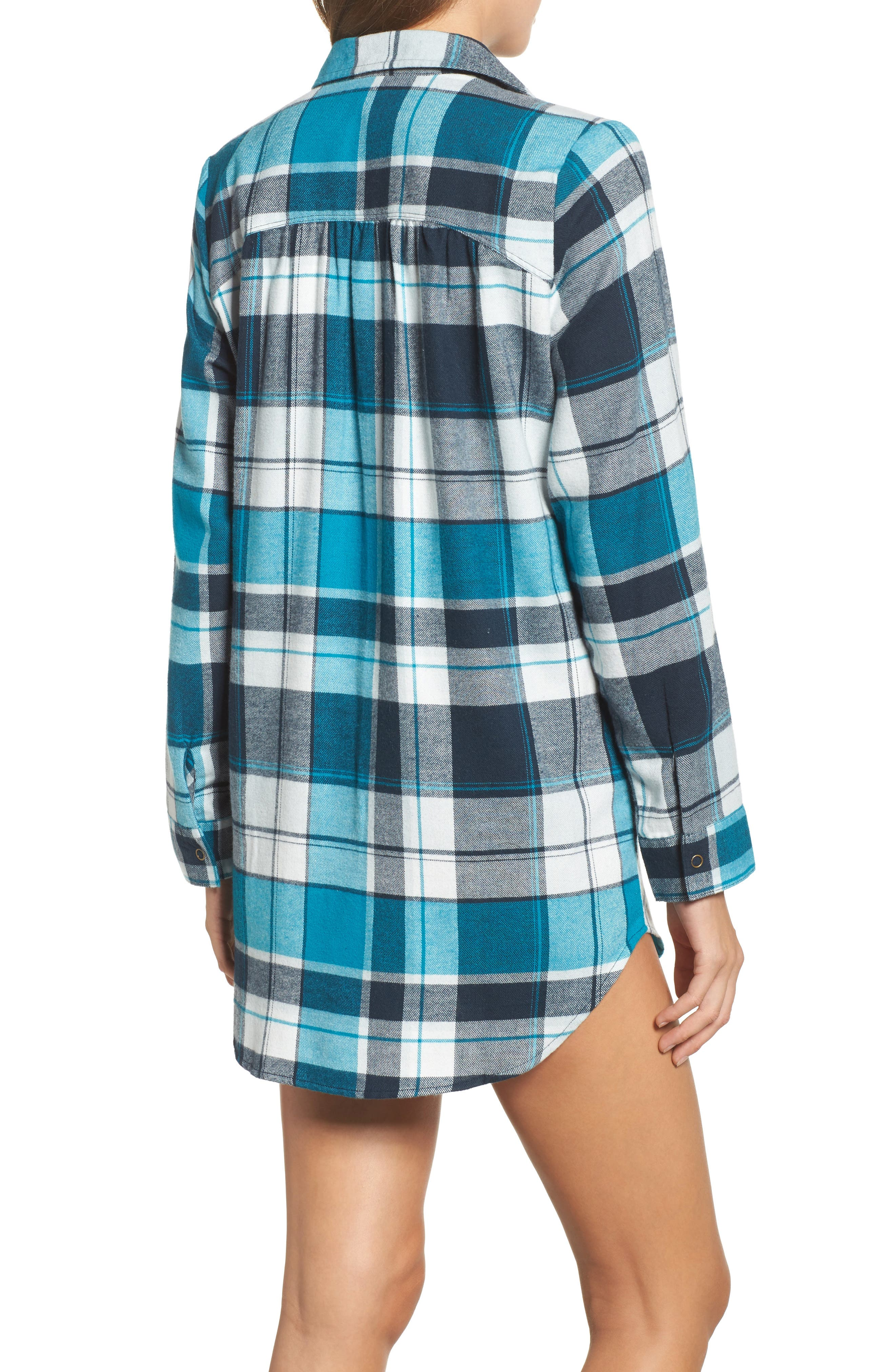 Alternate Image 2  - Make + Model Flannel Nightshirt