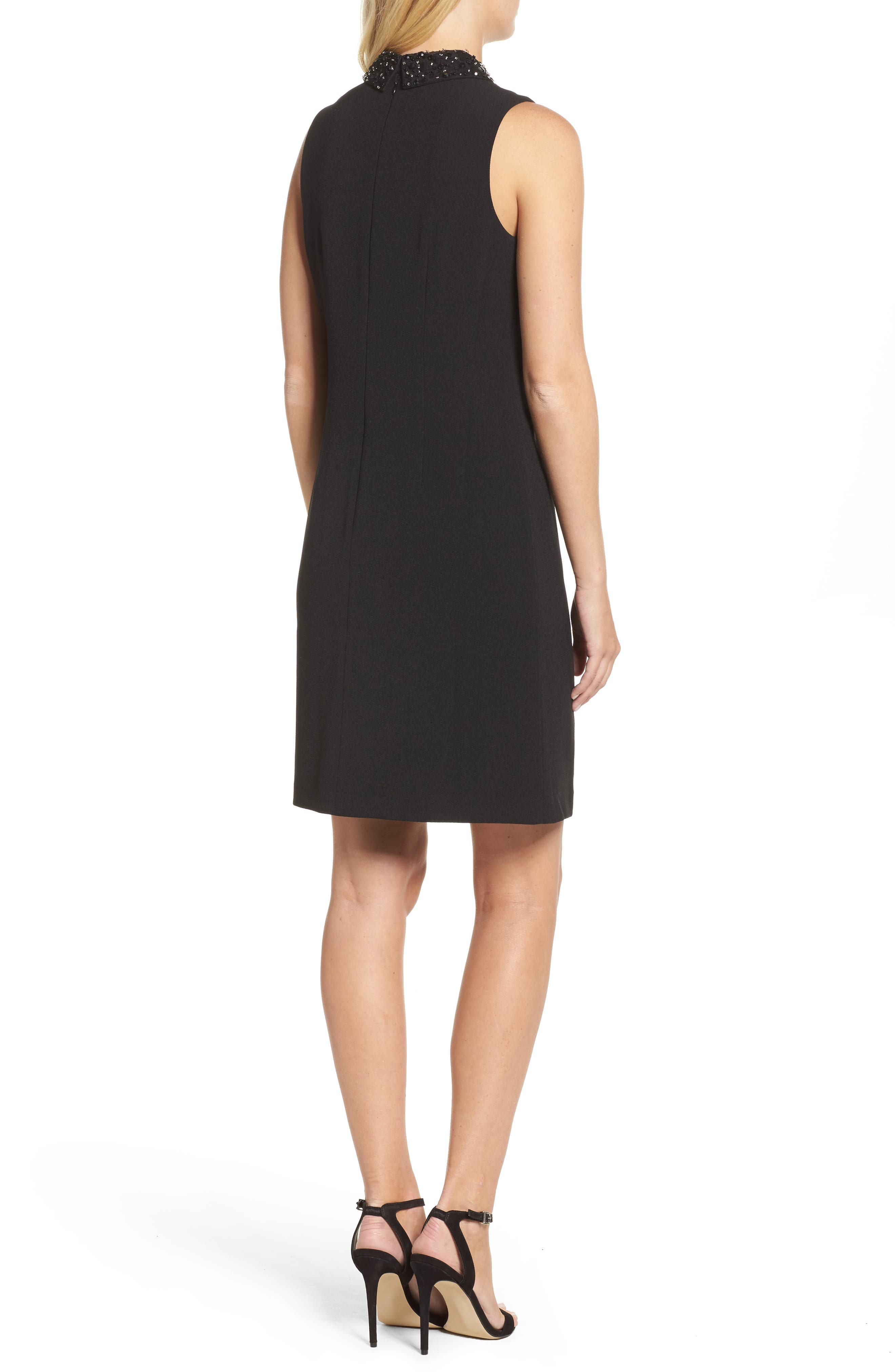 Alternate Image 2  - Julia Jordan Jeweled Collar A-Line Dress