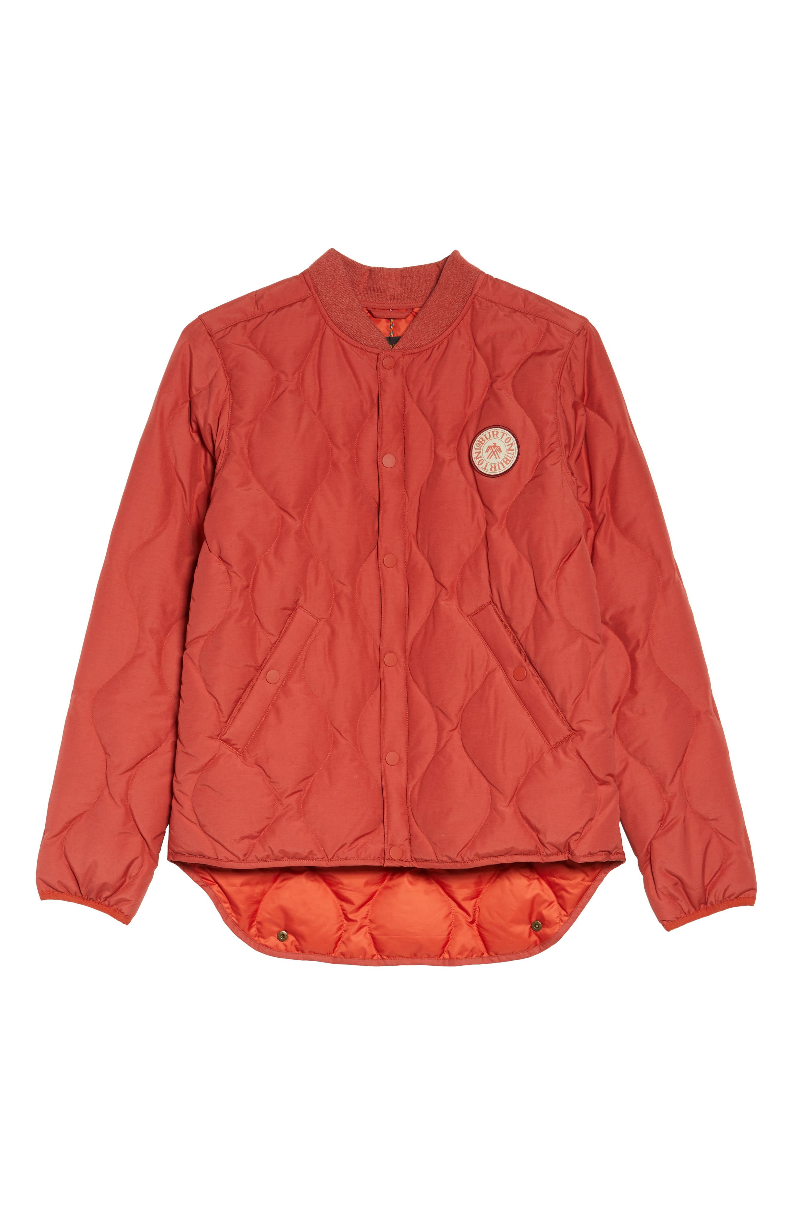 Kiley Quilted Down Insulator Jacket,                             Alternate thumbnail 7, color,                             Bitters