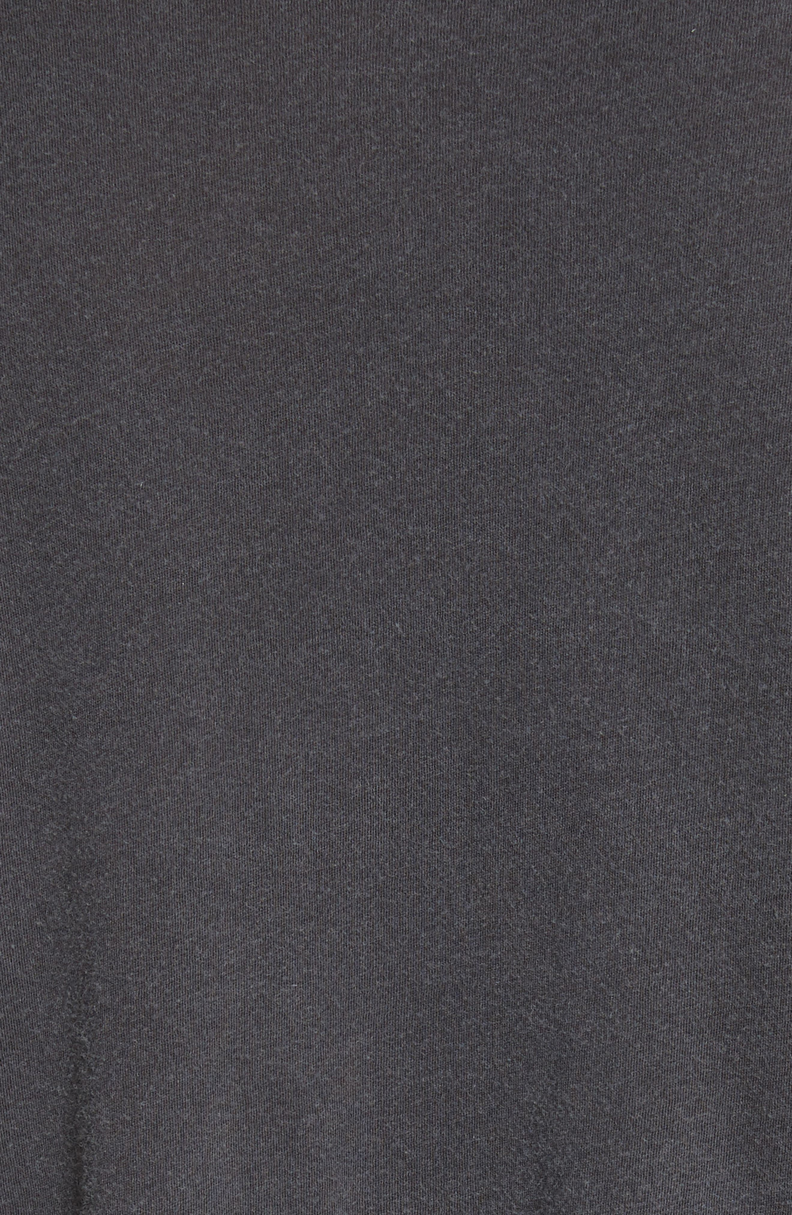 Abassi Embroidered T-Shirt,                             Alternate thumbnail 5, color,                             Blk Pigment