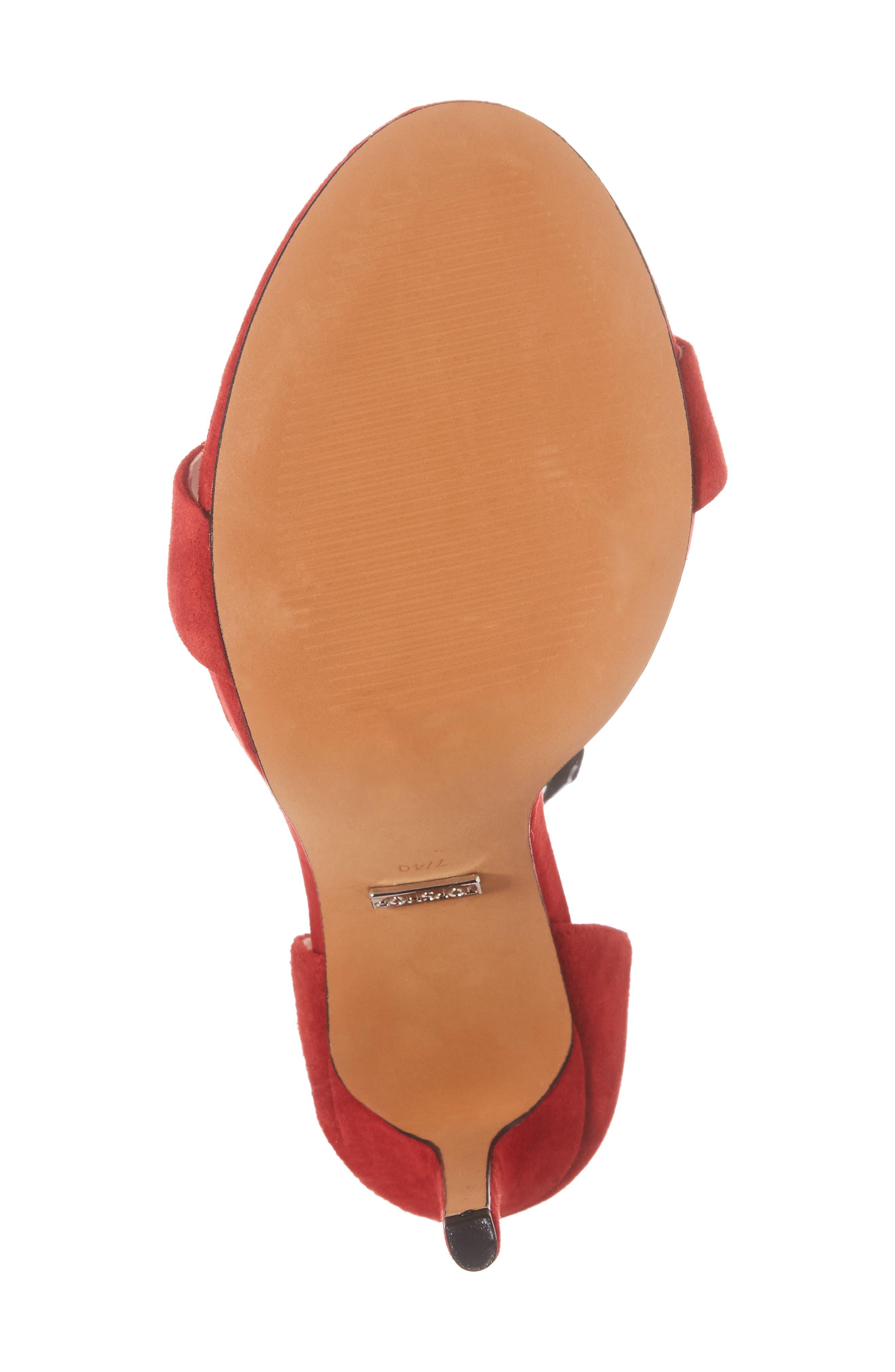 Alternate Image 6  - Topshop Raphie Ankle Strap Sandal (Women)