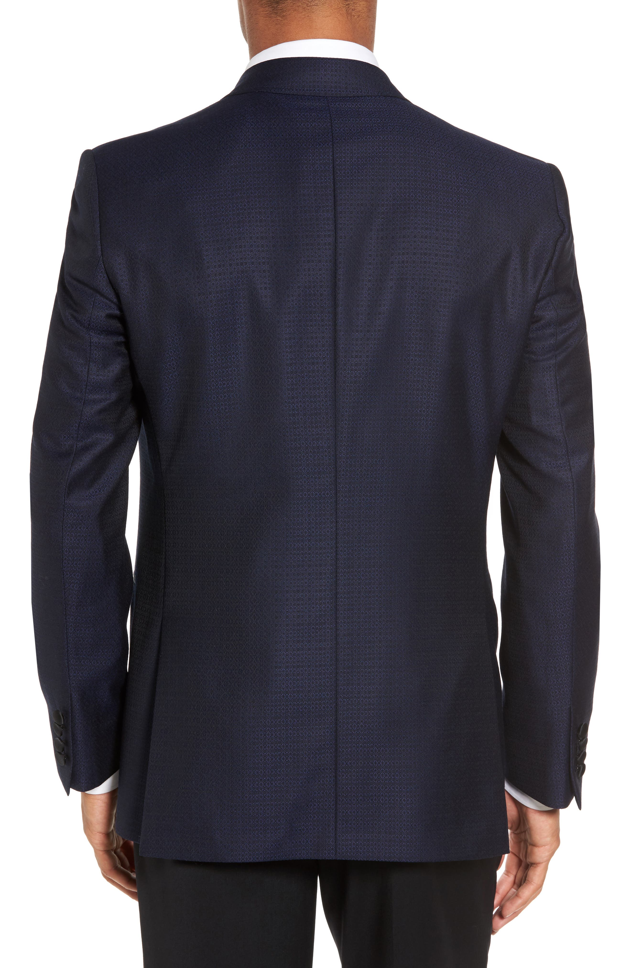 Alternate Image 2  - Ted Baker London Jack Trim Fit Wool Dinner Jacket