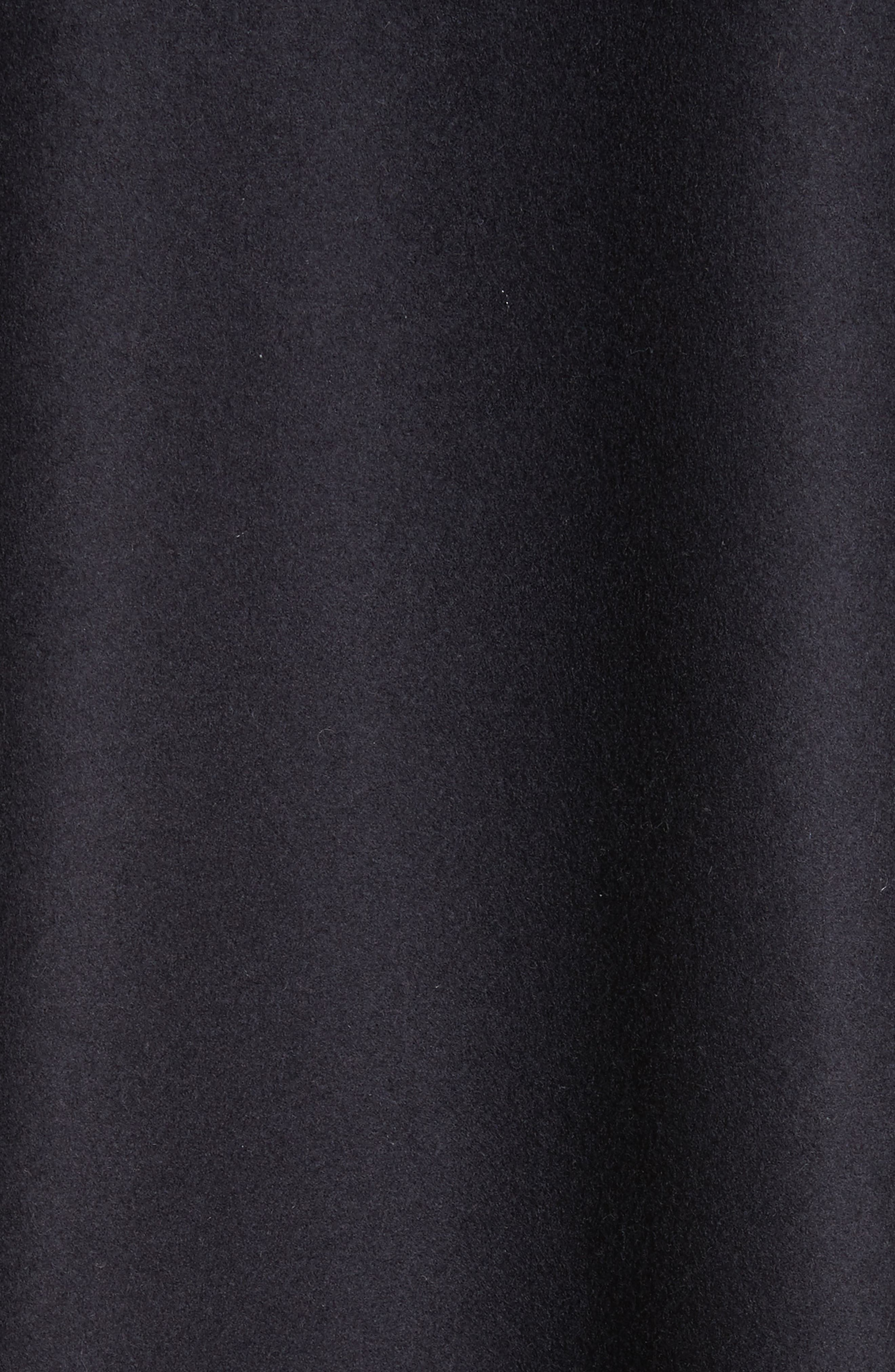 Grenat Wool & Cashmere Hooded Jacket,                             Alternate thumbnail 6, color,                             Navy