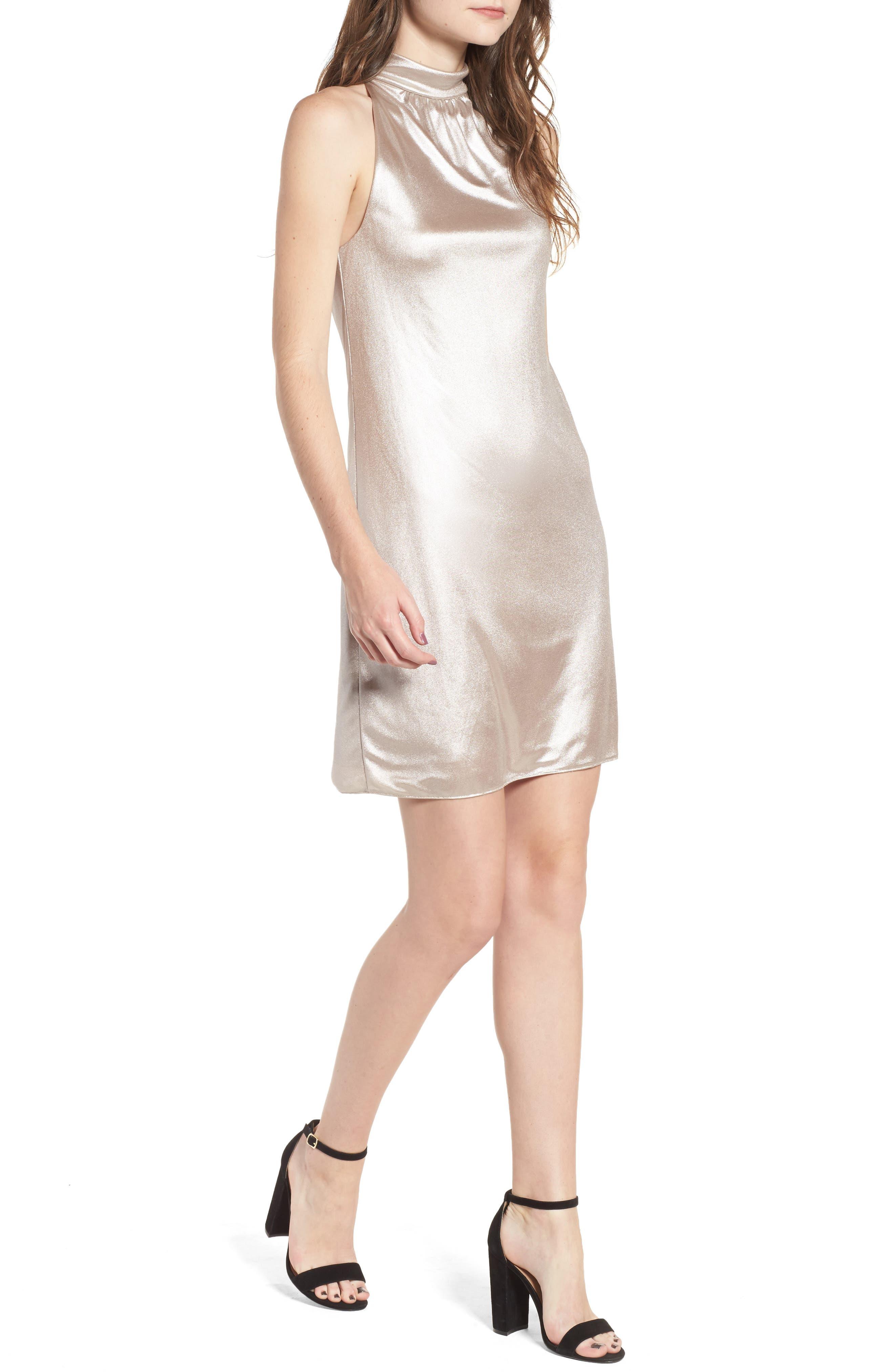 Director's Cut Dress,                         Main,                         color, Rose Gold
