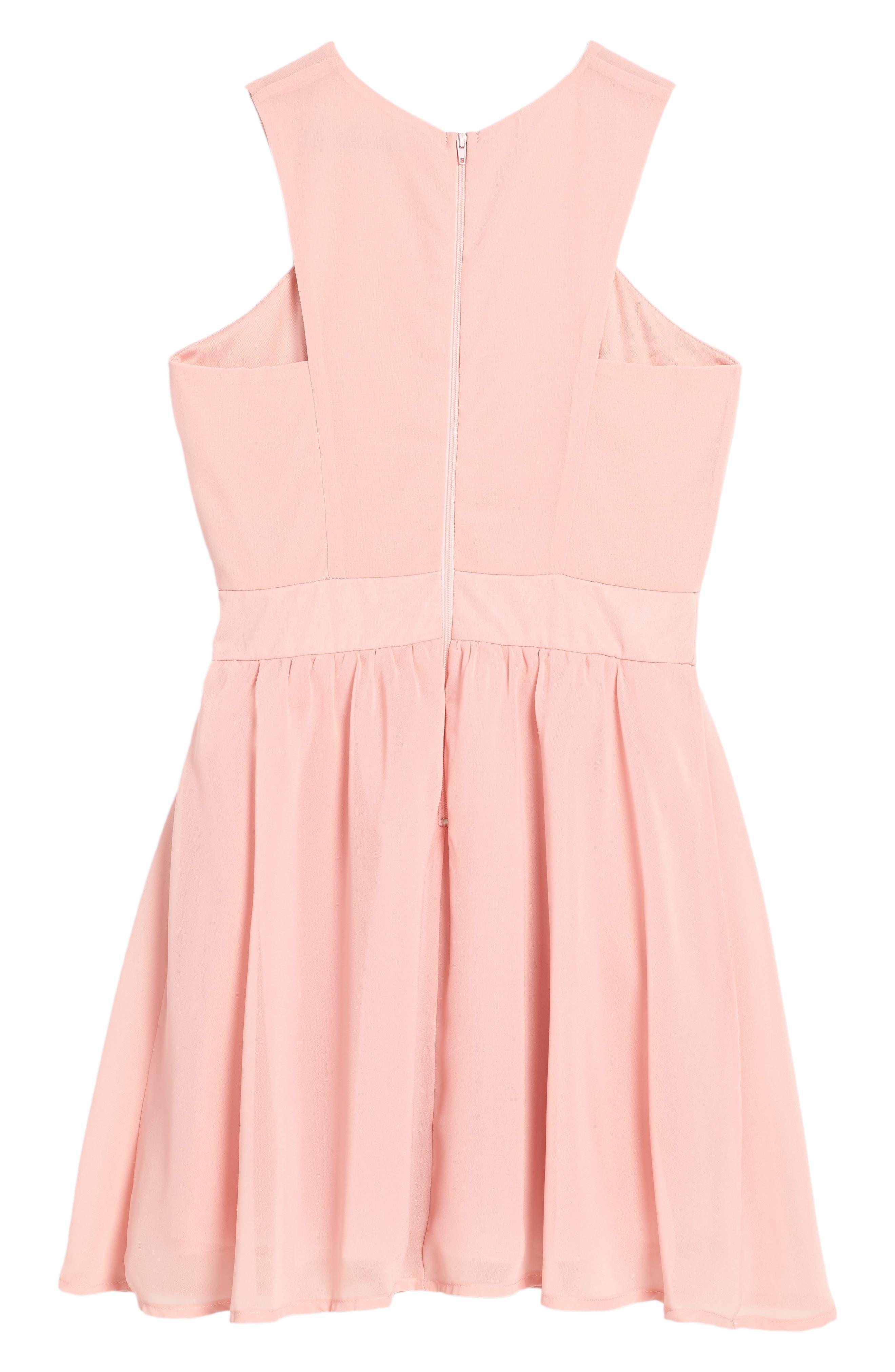 Alternate Image 2  - Penelope Tree Camilla Sleeveless Dress (Big Girls)
