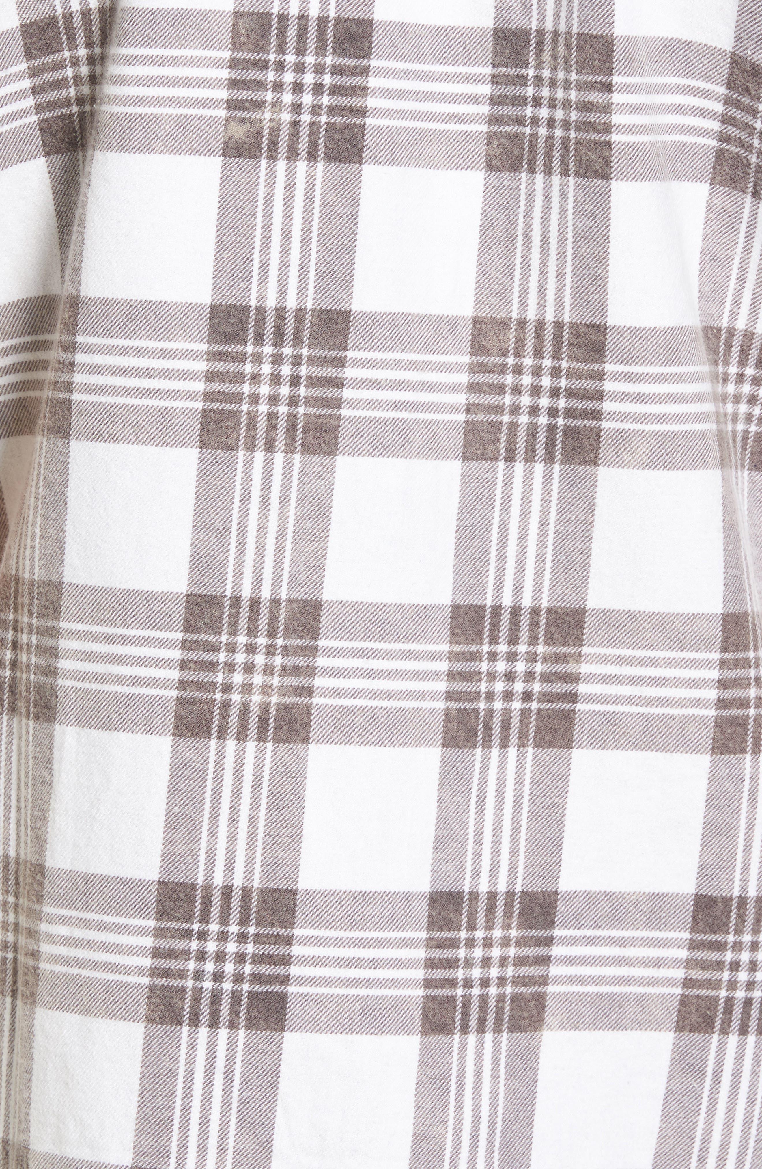 Alternate Image 5  - The Rail Bleach Plaid Shirt