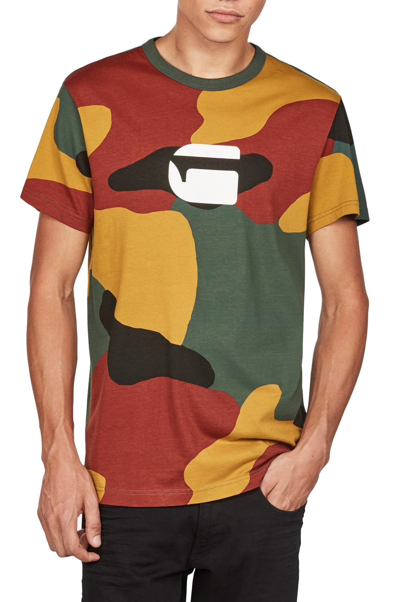 G-Star Raw Jigsaw Camo T-Shirt