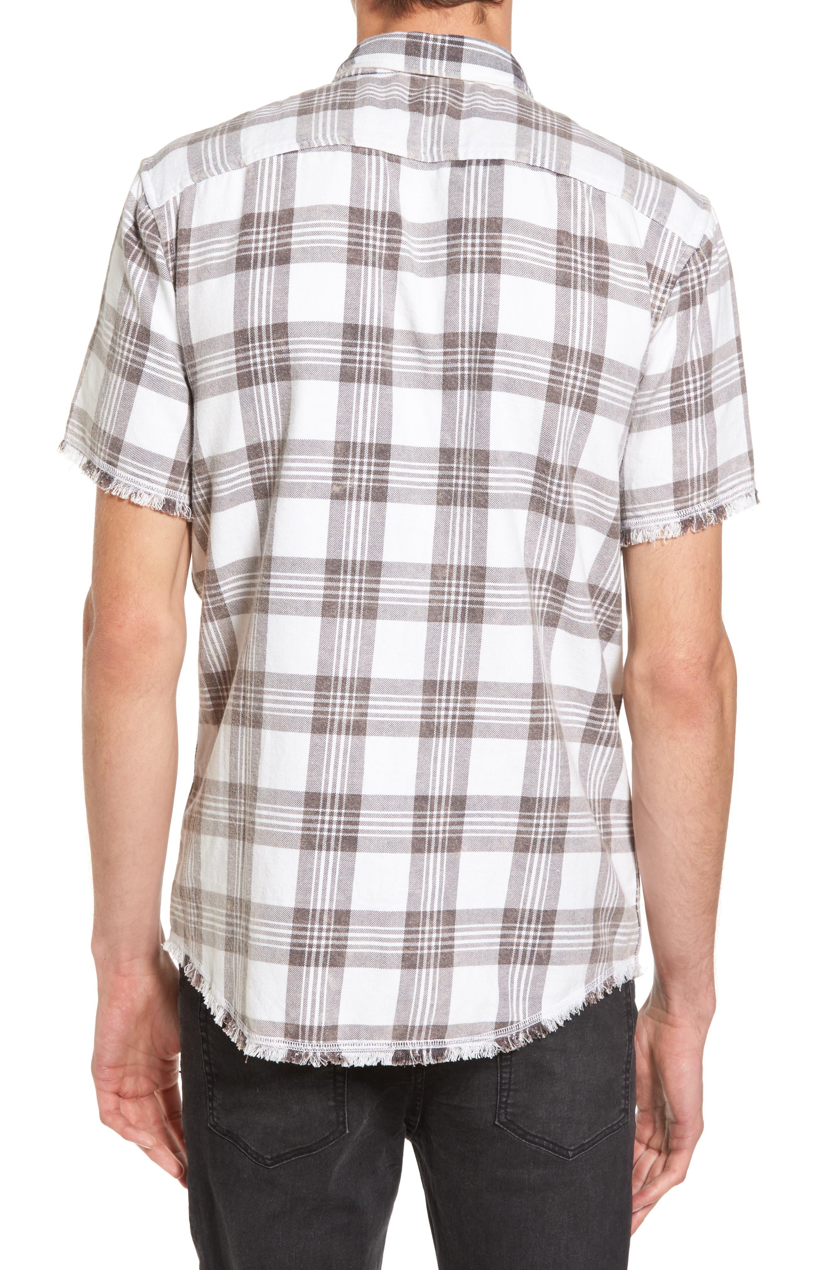 Alternate Image 2  - The Rail Bleach Plaid Shirt
