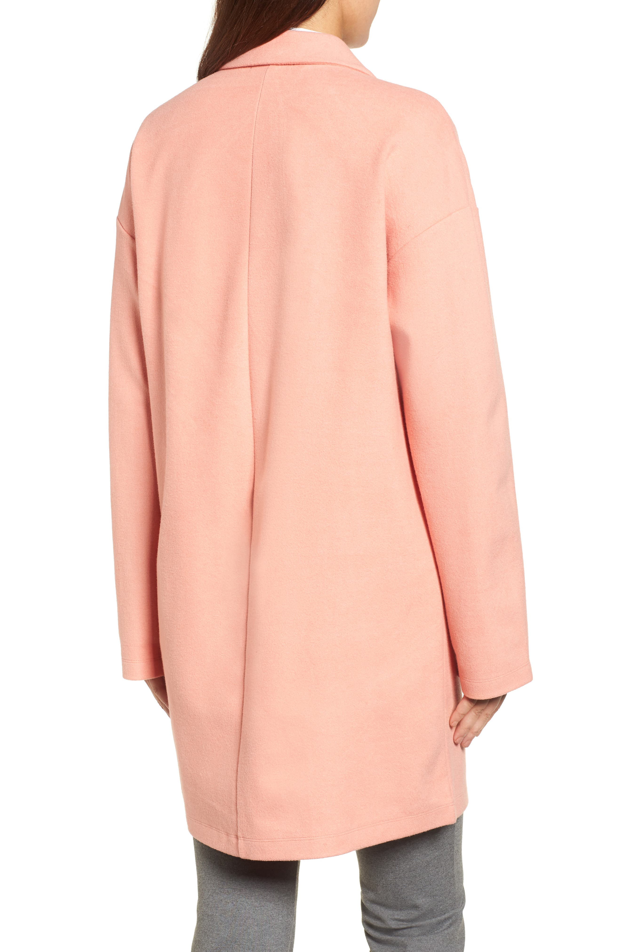 Two-Button Jacket,                             Alternate thumbnail 2, color,                             Coral Terra