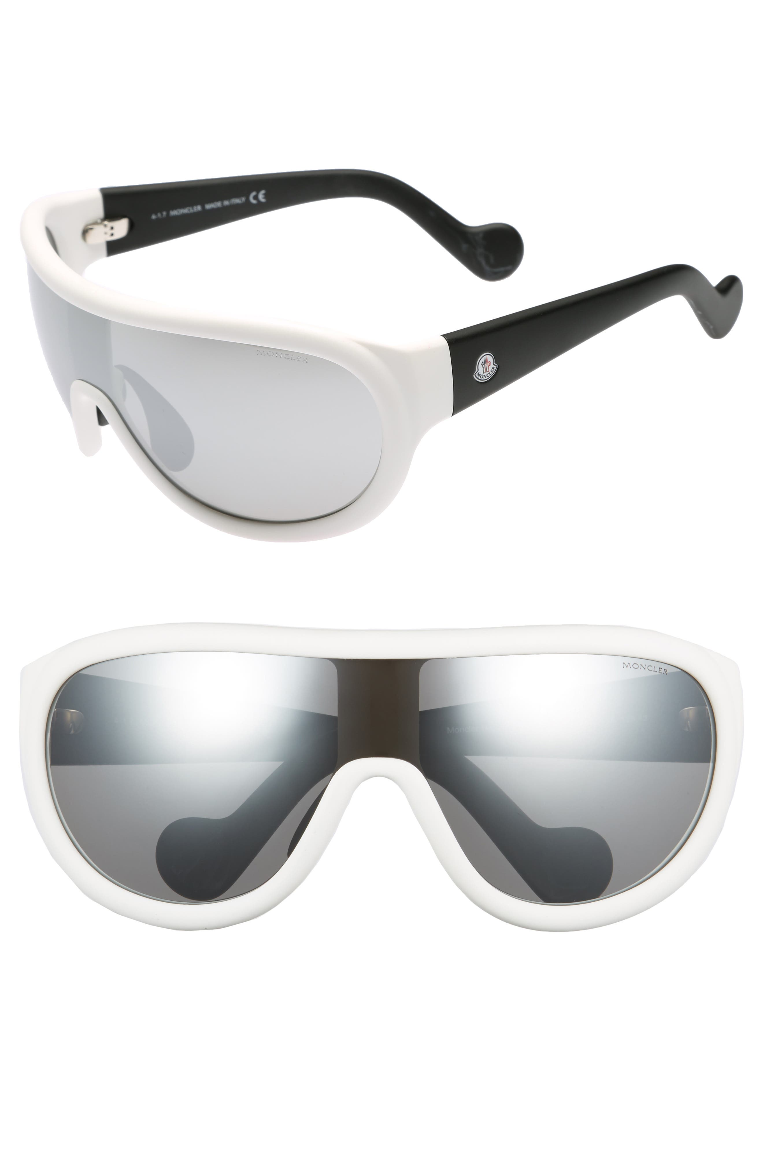 Alternate Image 1 Selected - Moncler Sport 60mm Aviator Sunglasses