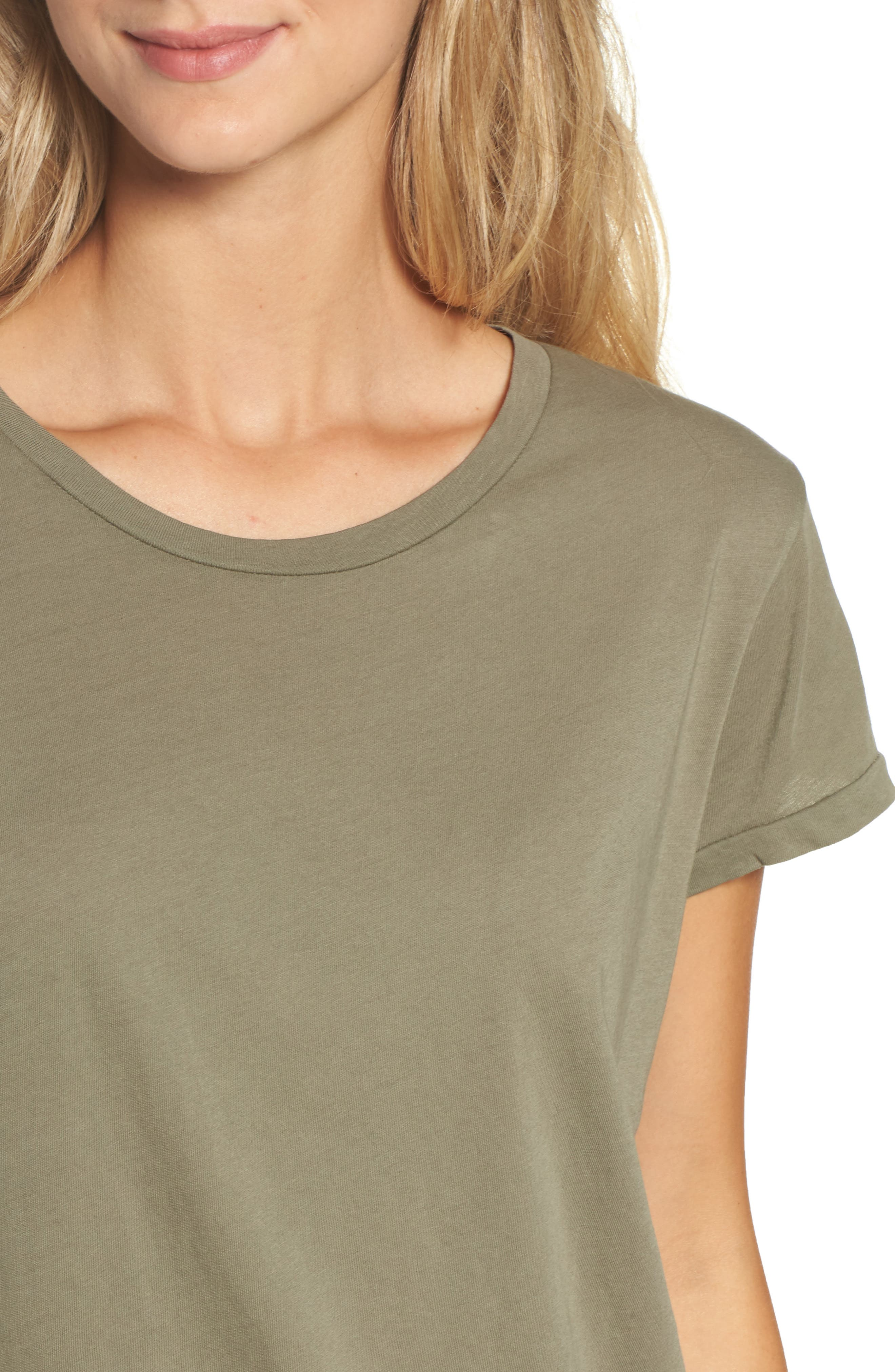 Tee,                             Alternate thumbnail 5, color,                             Army