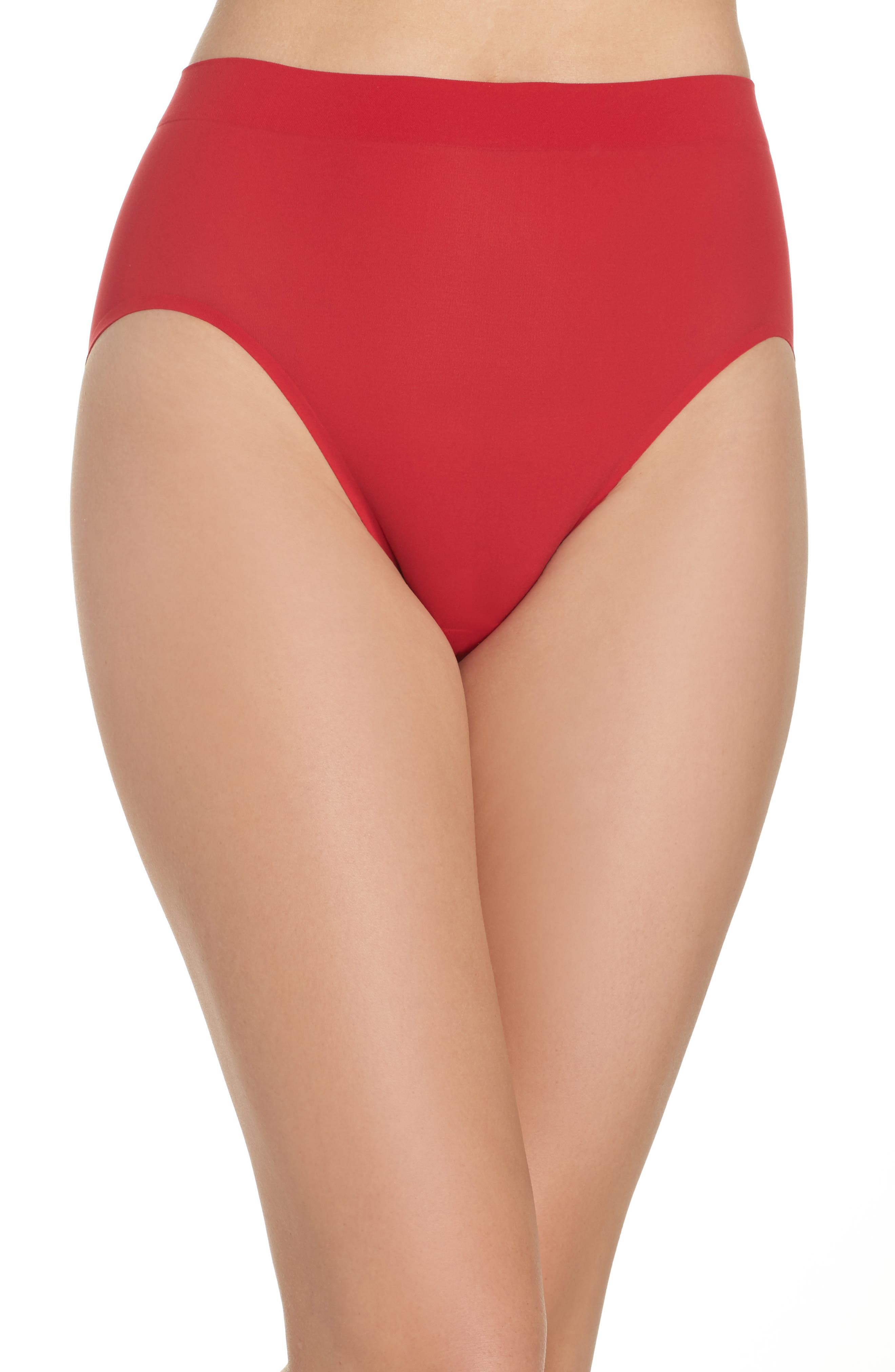 Alternate Image 1 Selected - Wacoal 'Skinsense' Seamless High Cut Briefs (3 for $45)