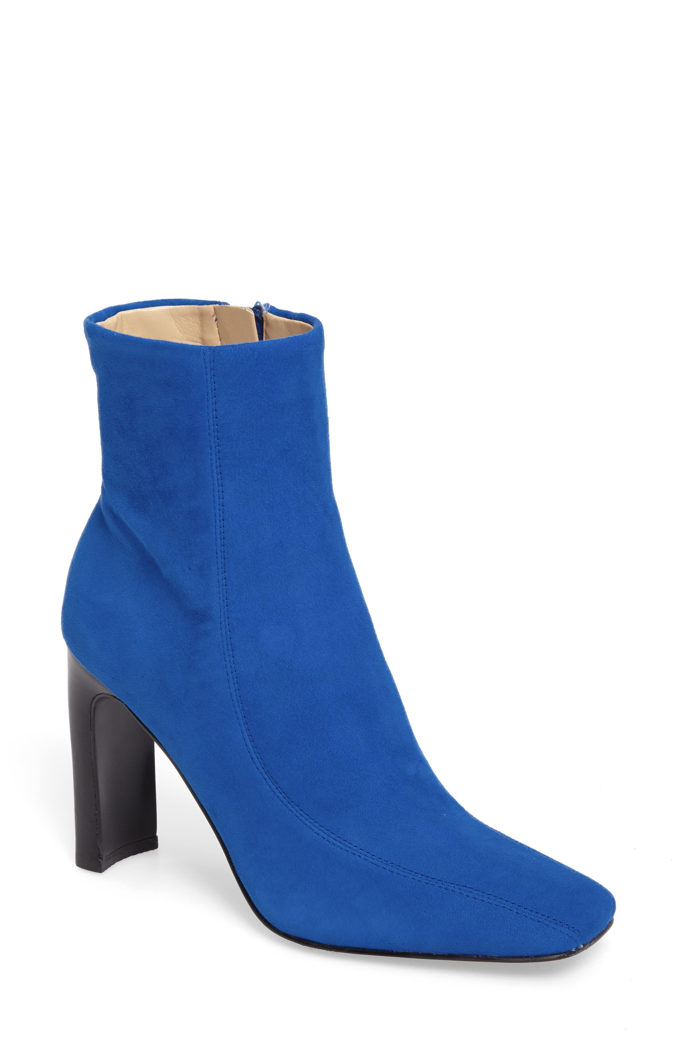 Darron Bootie,                         Main,                         color, Blue Suede