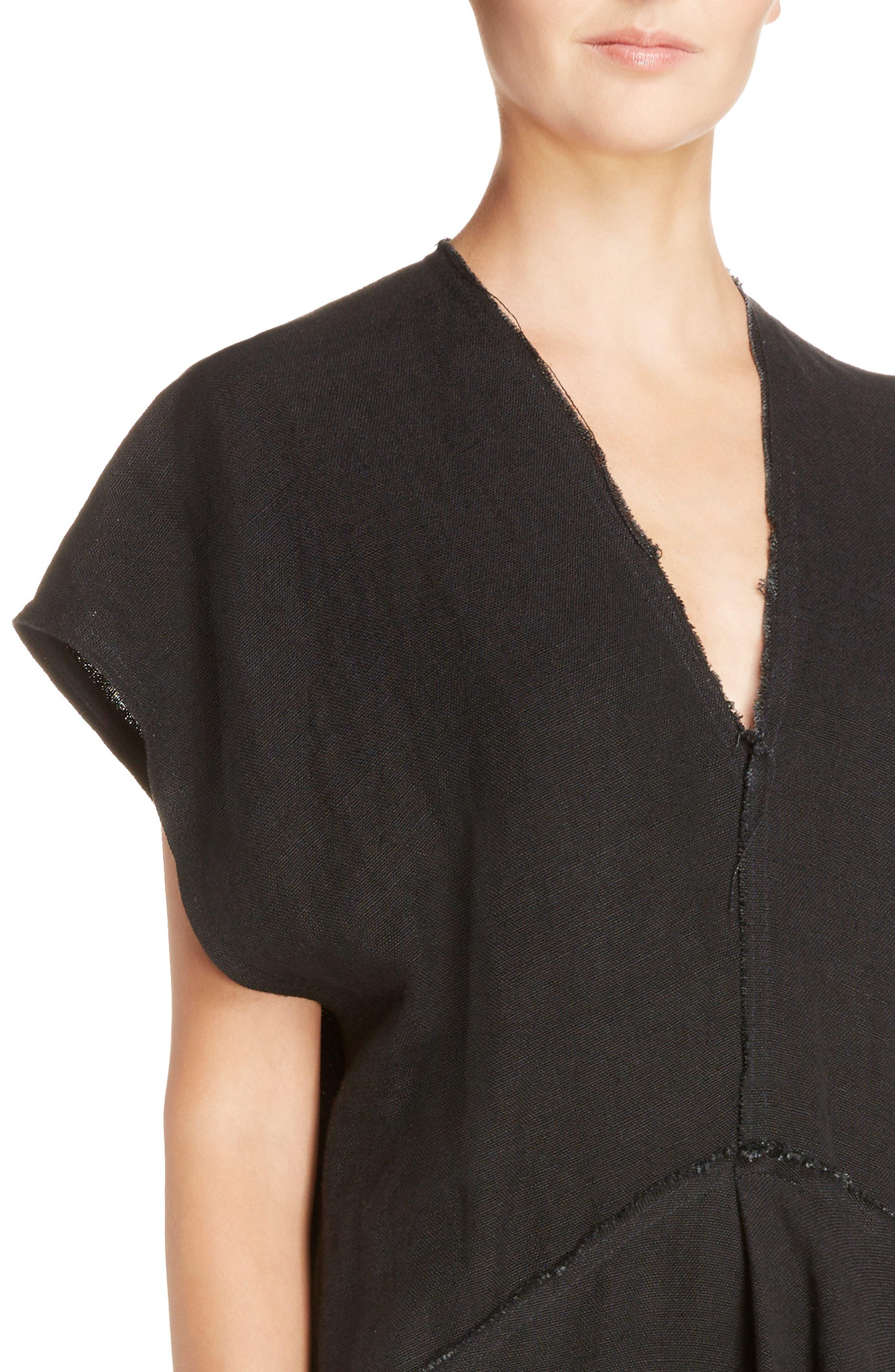 Jessa Shirtdress,                             Alternate thumbnail 5, color,                             Black