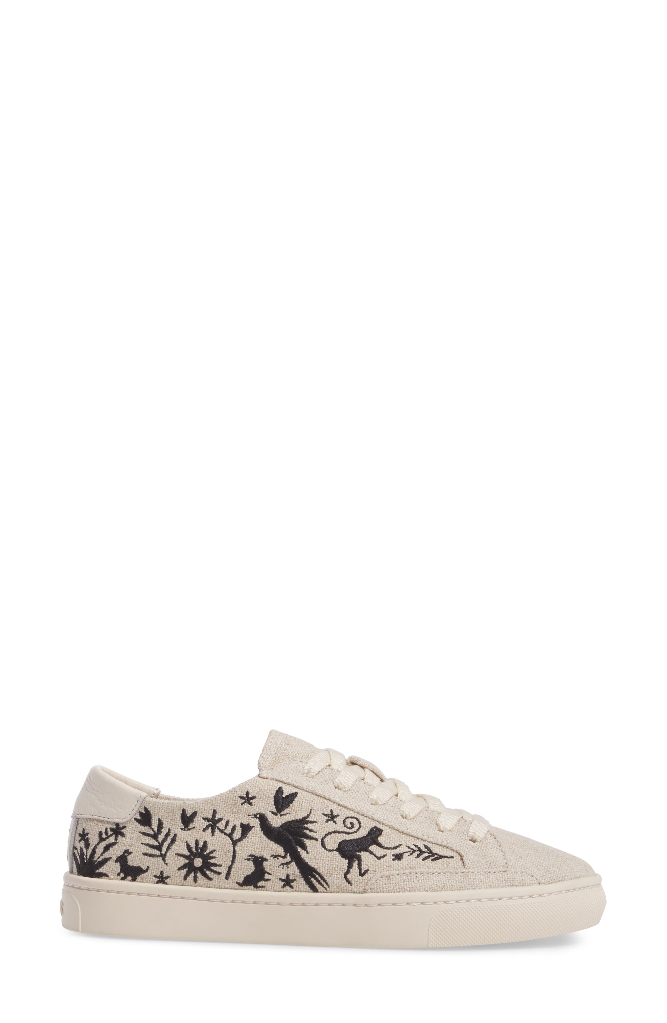 Otomi Sneaker,                             Alternate thumbnail 3, color,                             Sand Black
