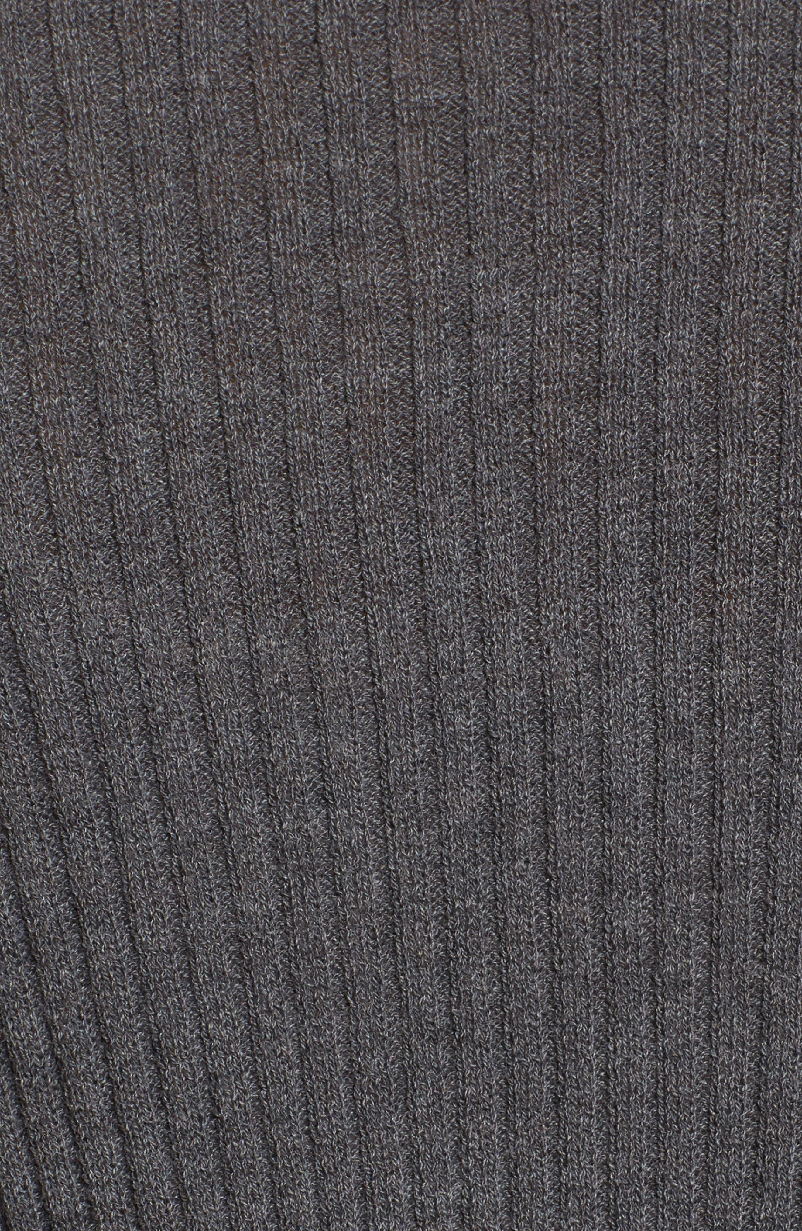 Alternate Image 5  - Eileen Fisher Drape Front Wool Cardigan