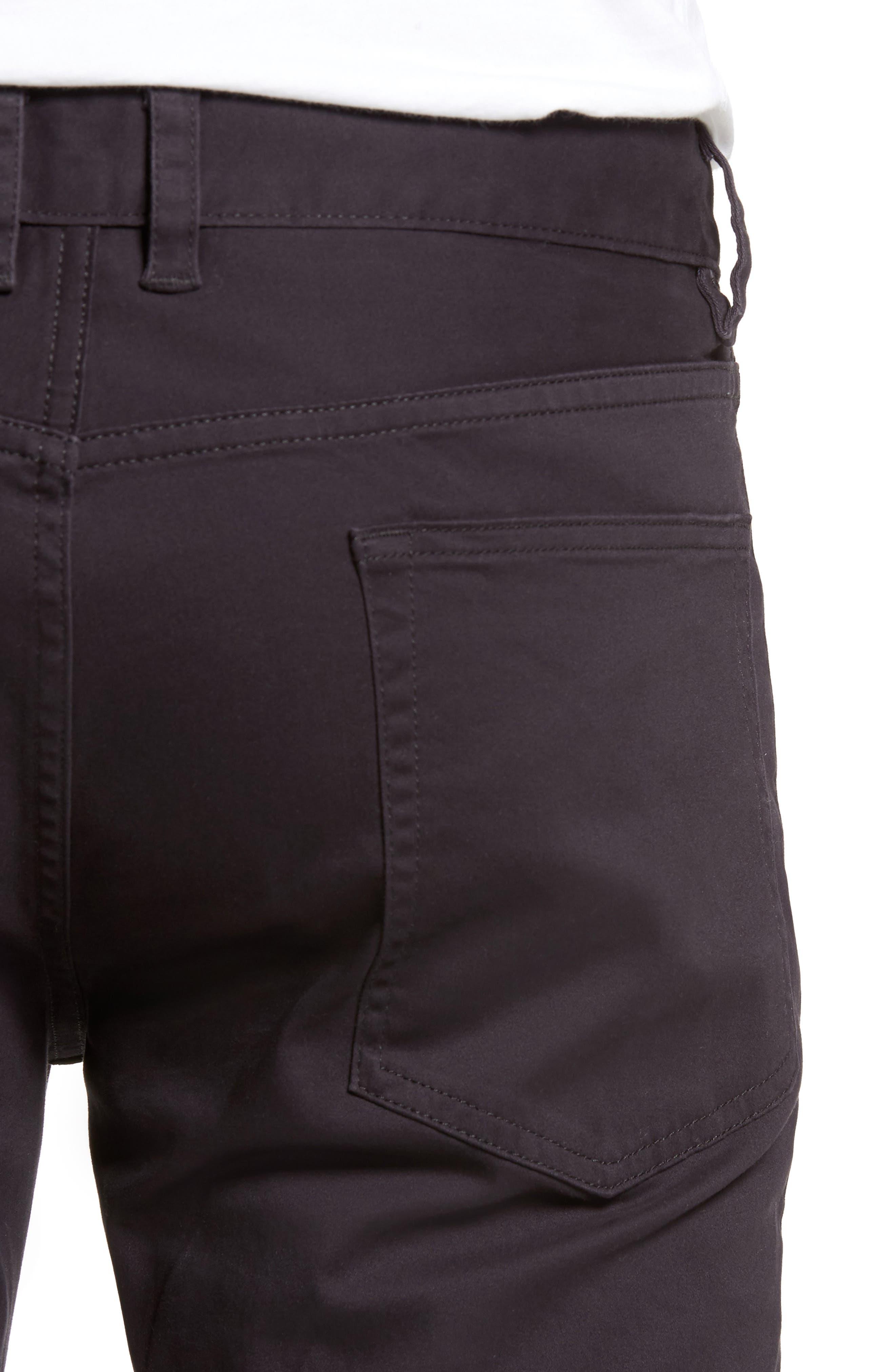 Slim Stretch Twill Pants,                             Alternate thumbnail 3, color,                             Dark Navy