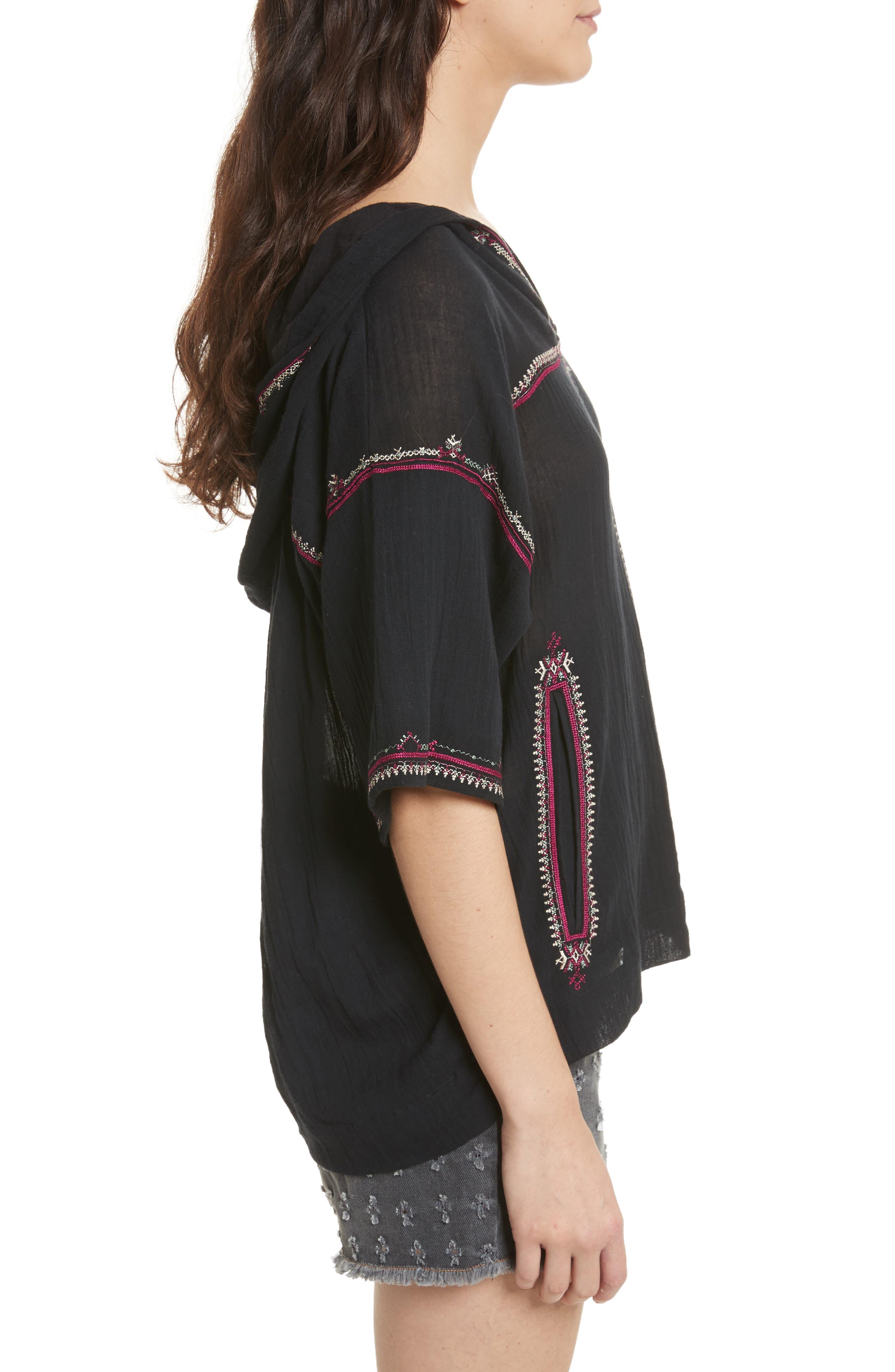Alternate Image 3  - Isabel Marant Étoile Mekki Embroidered Cotton Top