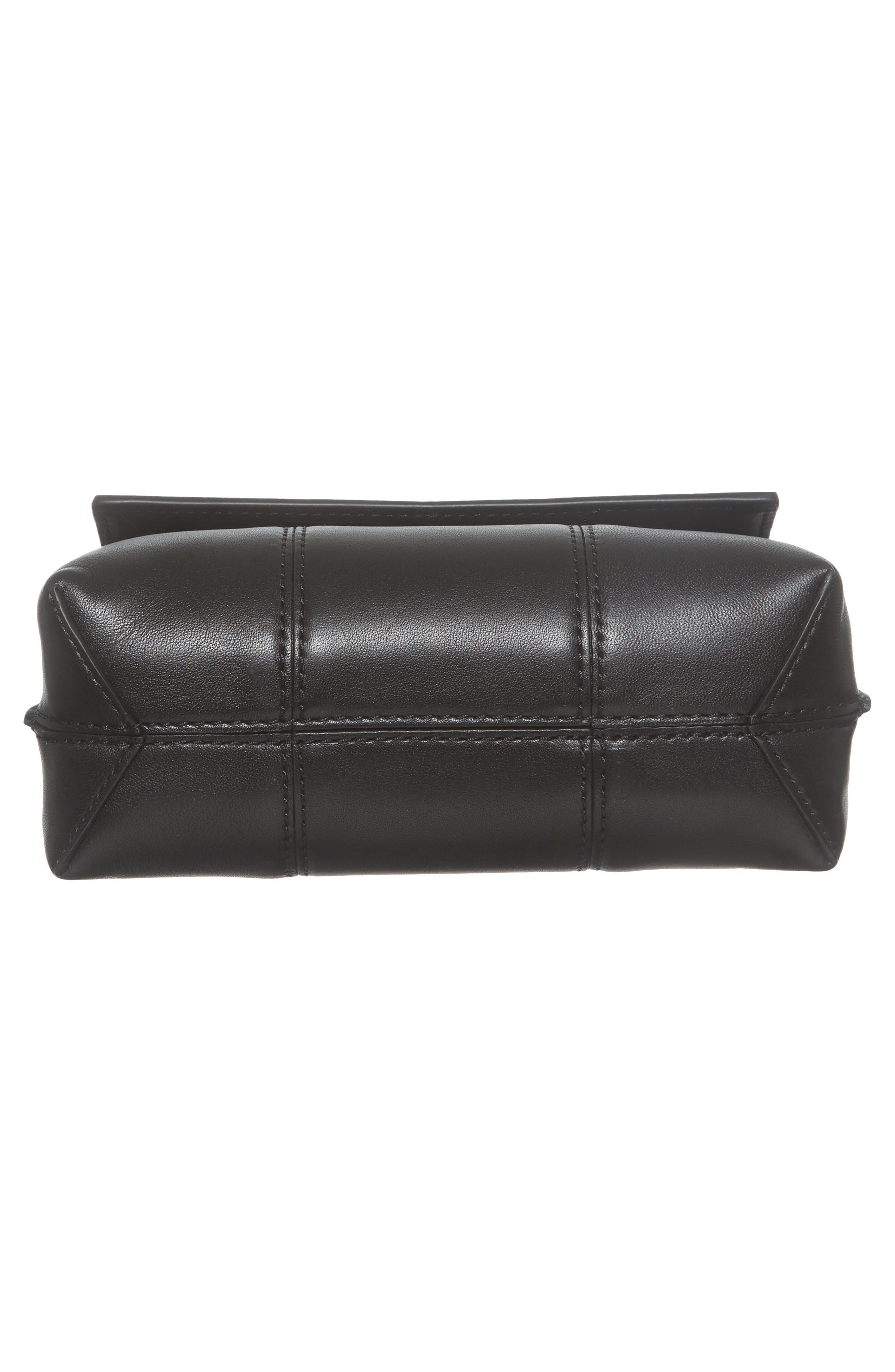 Alternate Image 6  - Tory Burch Mini Block-T Leather Satchel