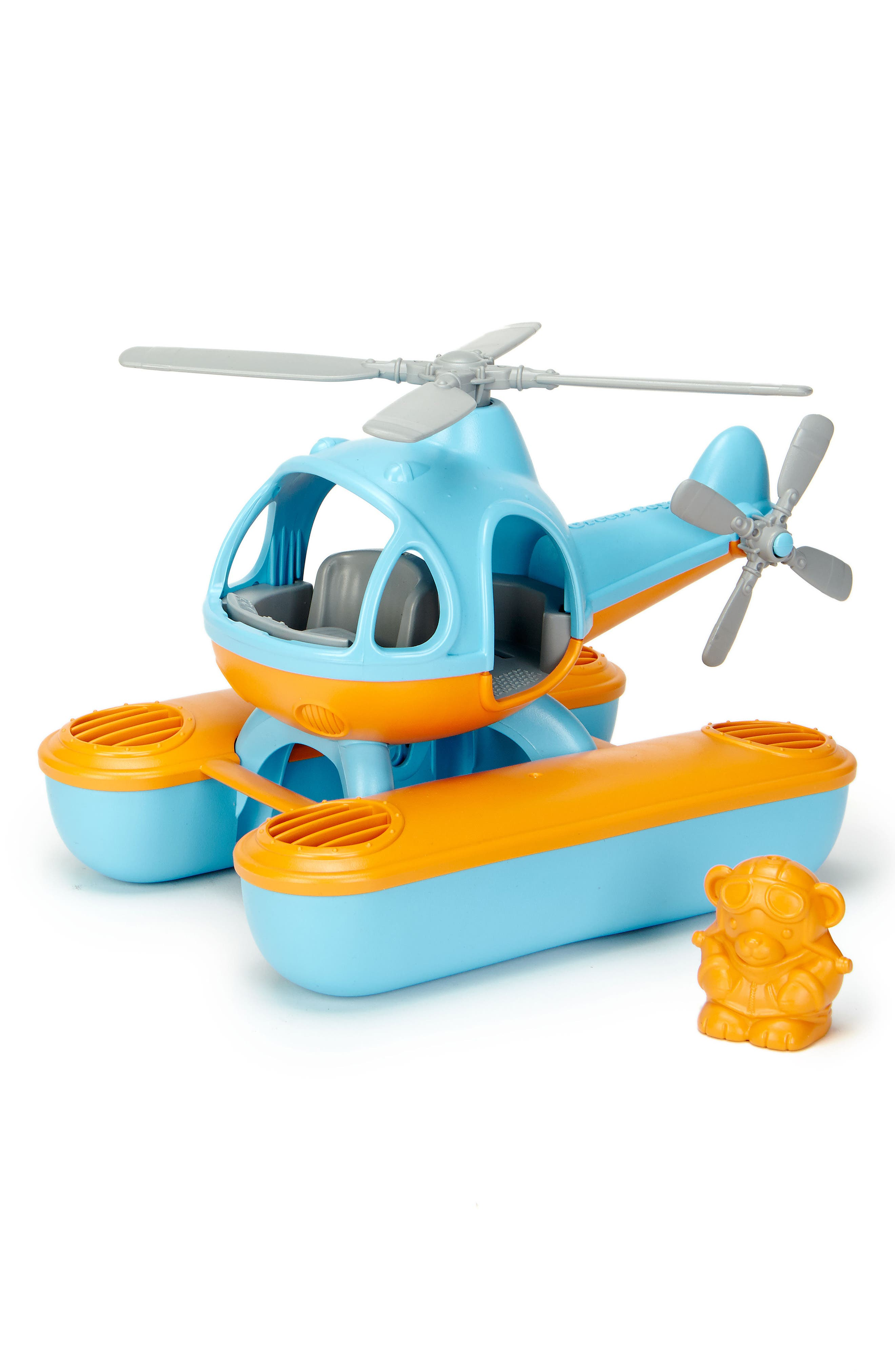 Green Toys Two-Piece Seacopter Toy