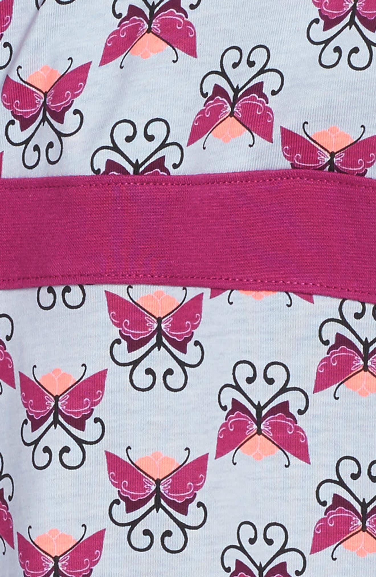 Beitiris Print Wrap Neck Dress,                             Alternate thumbnail 2, color,                             Horizon