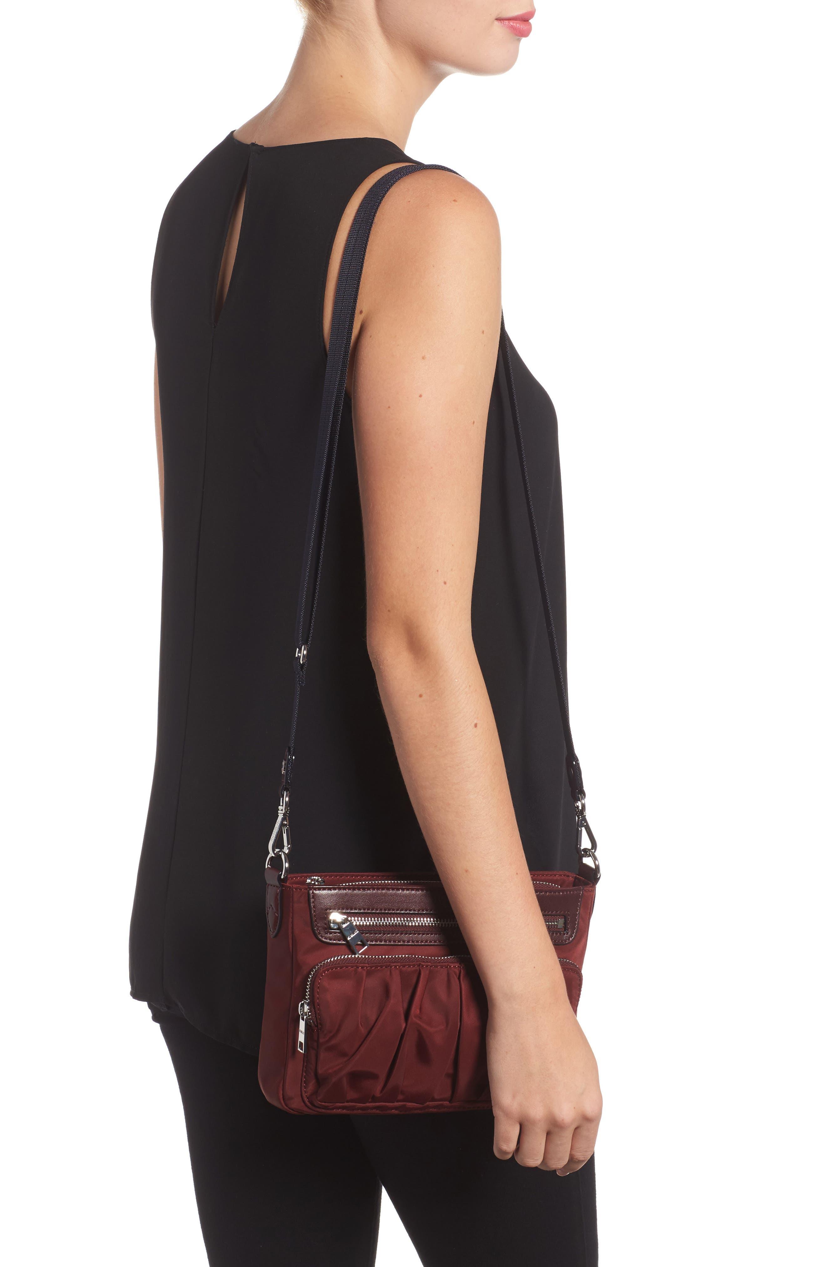 Alternate Image 2  - MZ Wallace Abbey Bedford Nylon Crossbody Bag